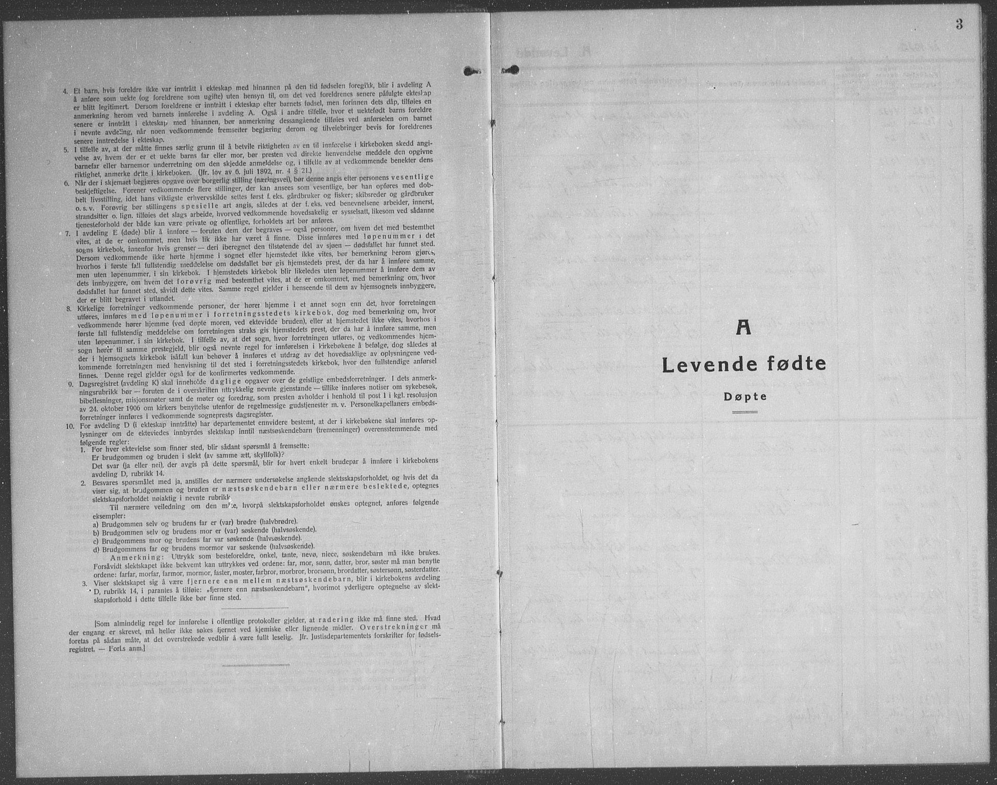 SAT, Ministerialprotokoller, klokkerbøker og fødselsregistre - Nord-Trøndelag, 749/L0481: Klokkerbok nr. 749C03, 1933-1945, s. 3