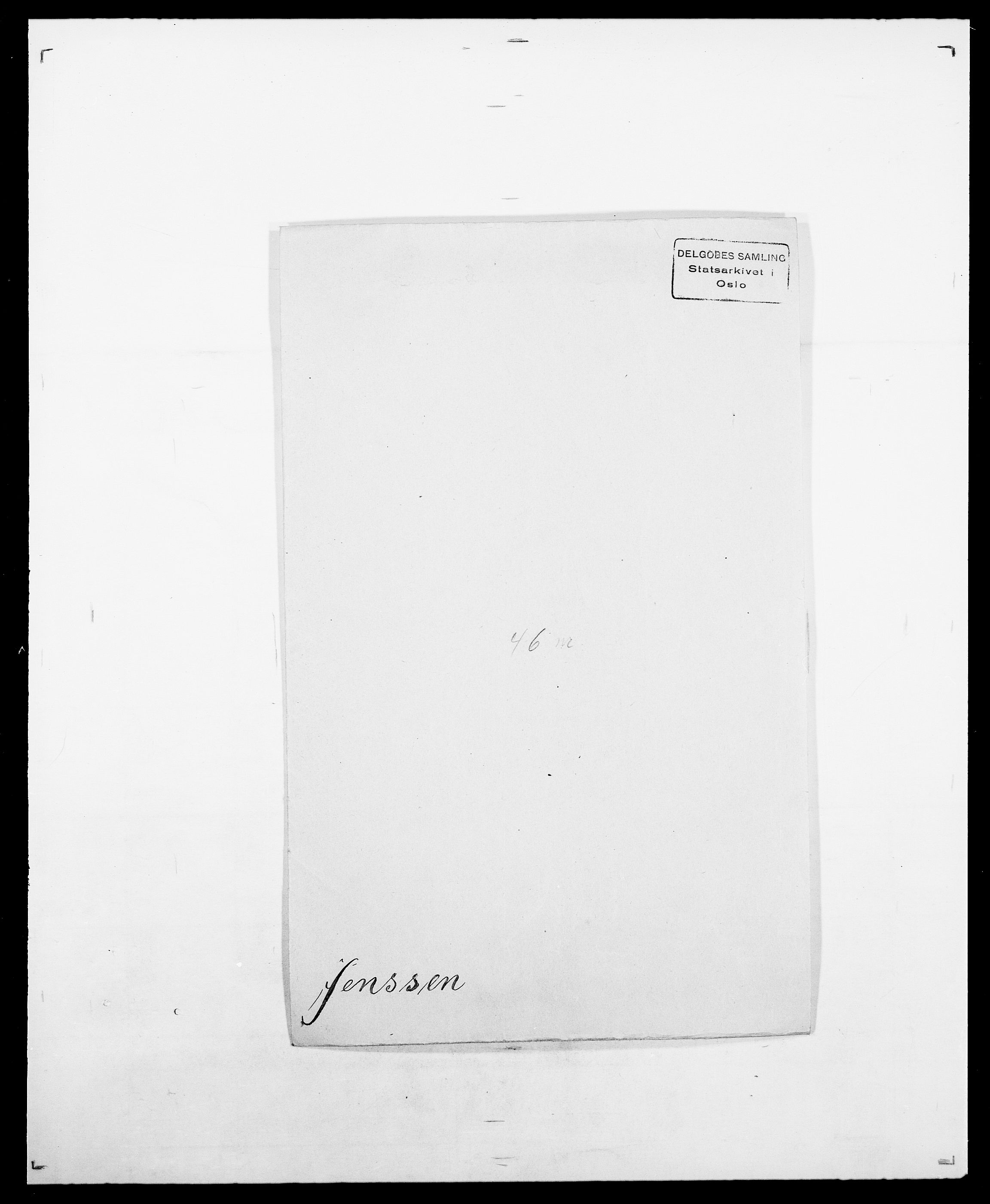 SAO, Delgobe, Charles Antoine - samling, D/Da/L0019: van der Hude - Joys, s. 637