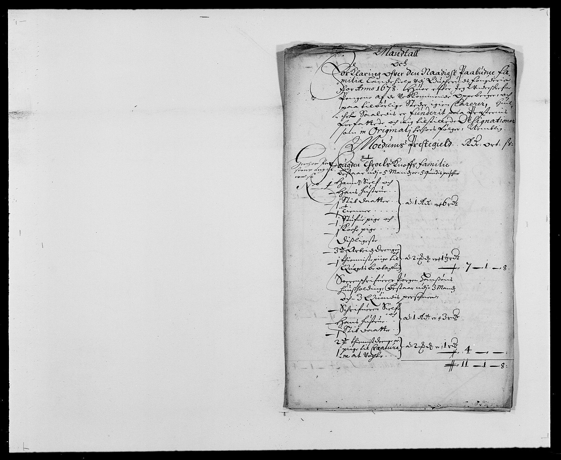RA, Rentekammeret inntil 1814, Reviderte regnskaper, Fogderegnskap, R25/L1674: Fogderegnskap Buskerud, 1678-1681, s. 148