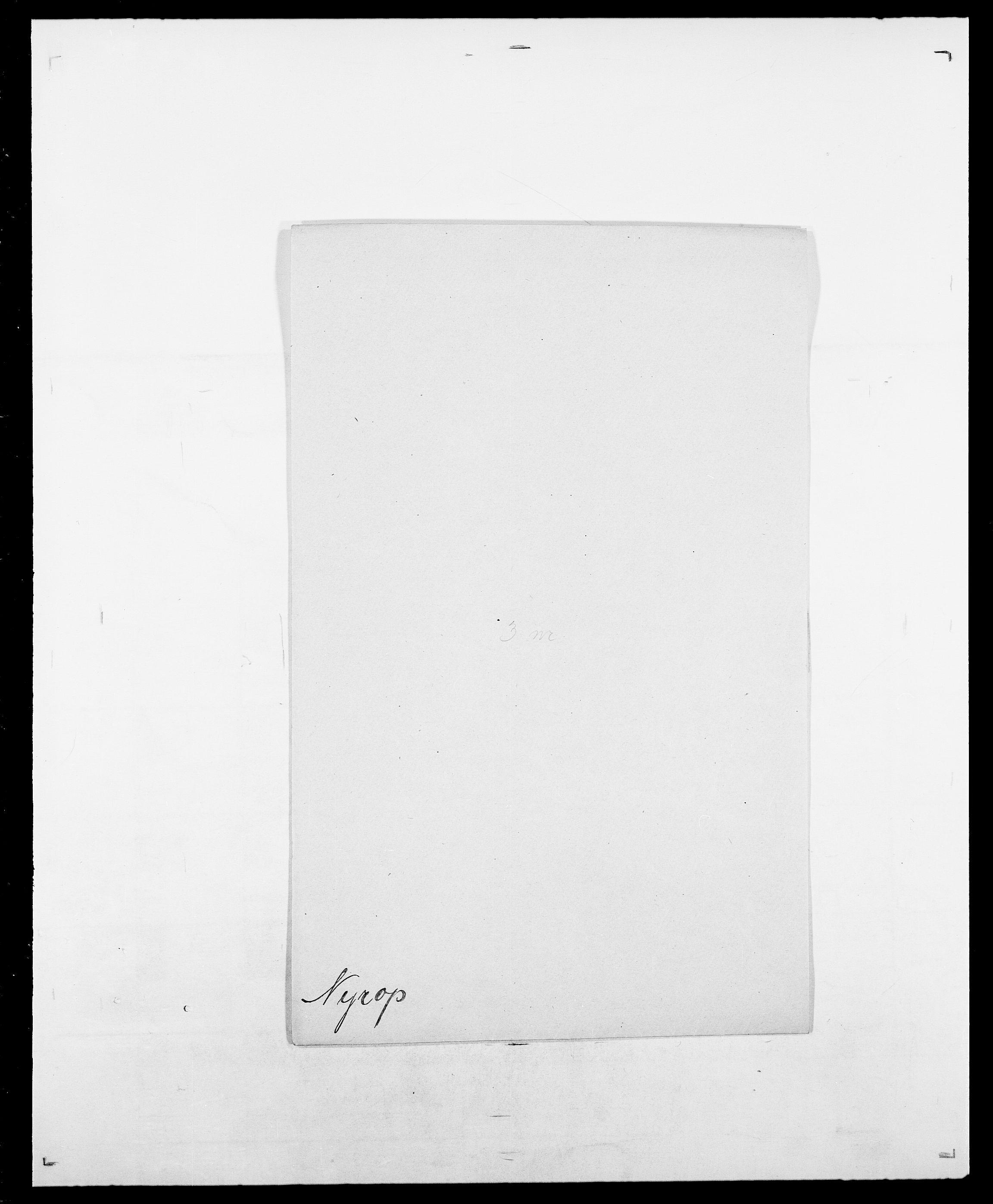 SAO, Delgobe, Charles Antoine - samling, D/Da/L0028: Naaden - Nøvik, s. 573