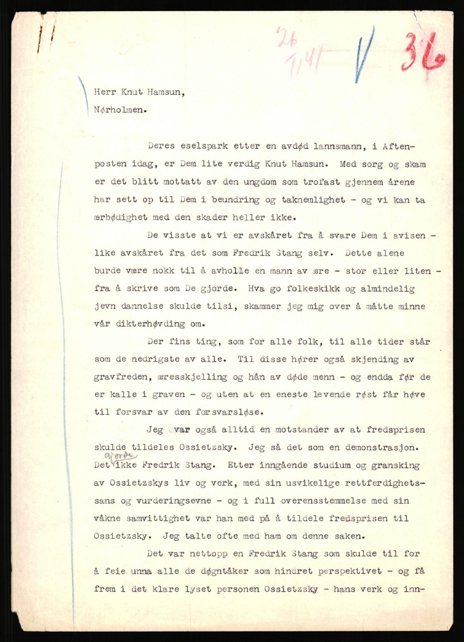 RA, Landssvikarkivet, Arendal politikammer, D/Dc/L0029: Anr. 192/45, 1945-1951, s. 355