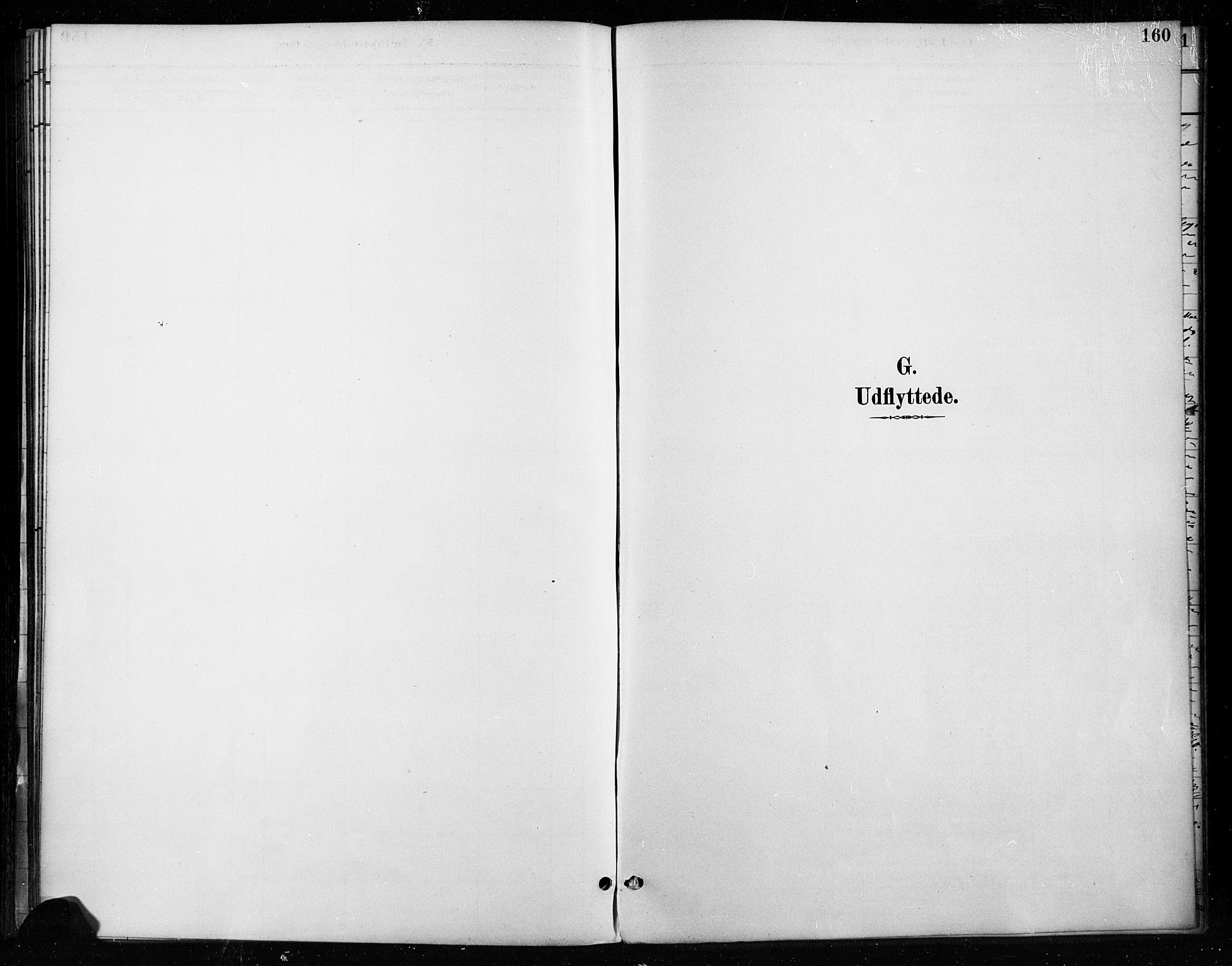 SAH, Gran prestekontor, Ministerialbok nr. 18, 1889-1899, s. 160
