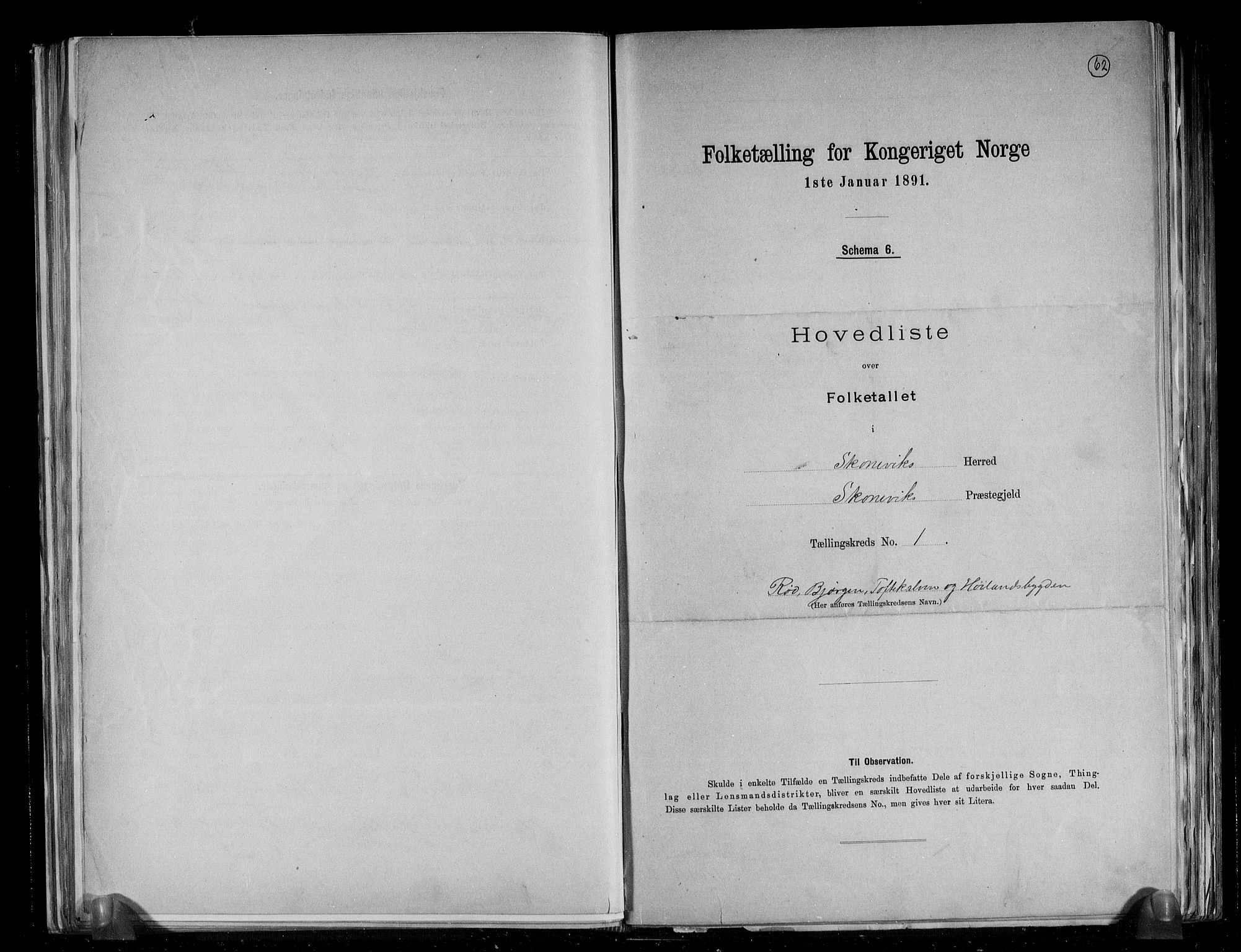 RA, Folketelling 1891 for 1212 Skånevik herred, 1891, s. 4