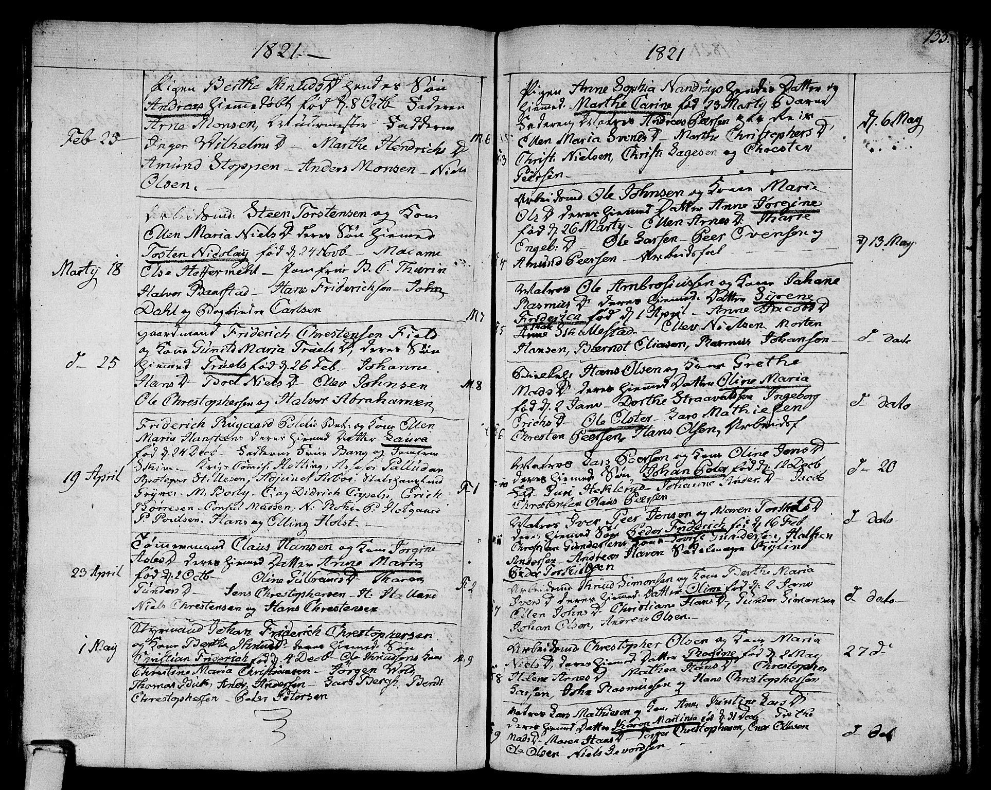 SAKO, Strømsø kirkebøker, F/Fa/L0010: Ministerialbok nr. I 10, 1792-1822, s. 133
