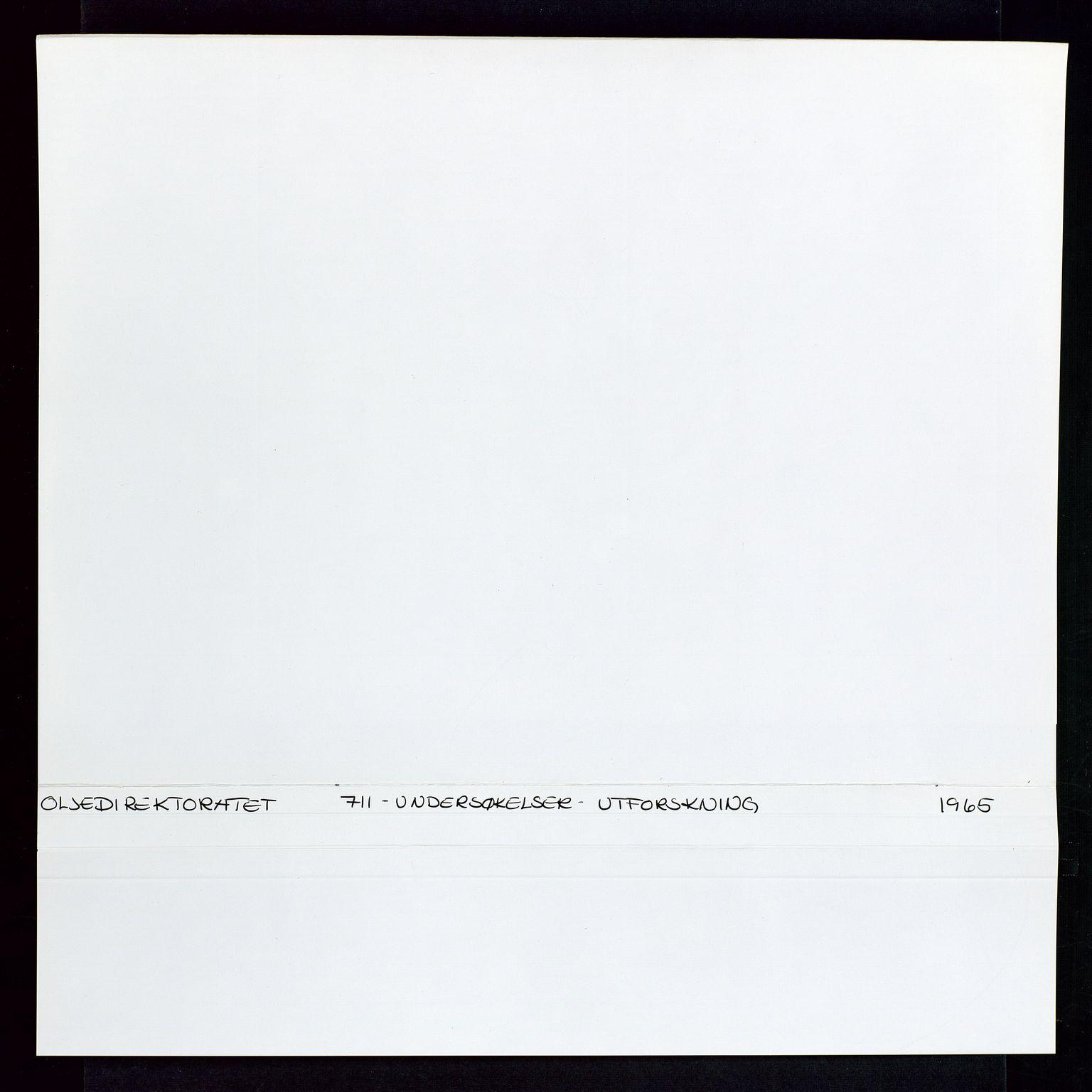 SAST, Industridepartementet, Oljekontoret, Da/L0003: Arkivnøkkel 711 Undersøkelser og utforskning, 1963-1971, s. 306