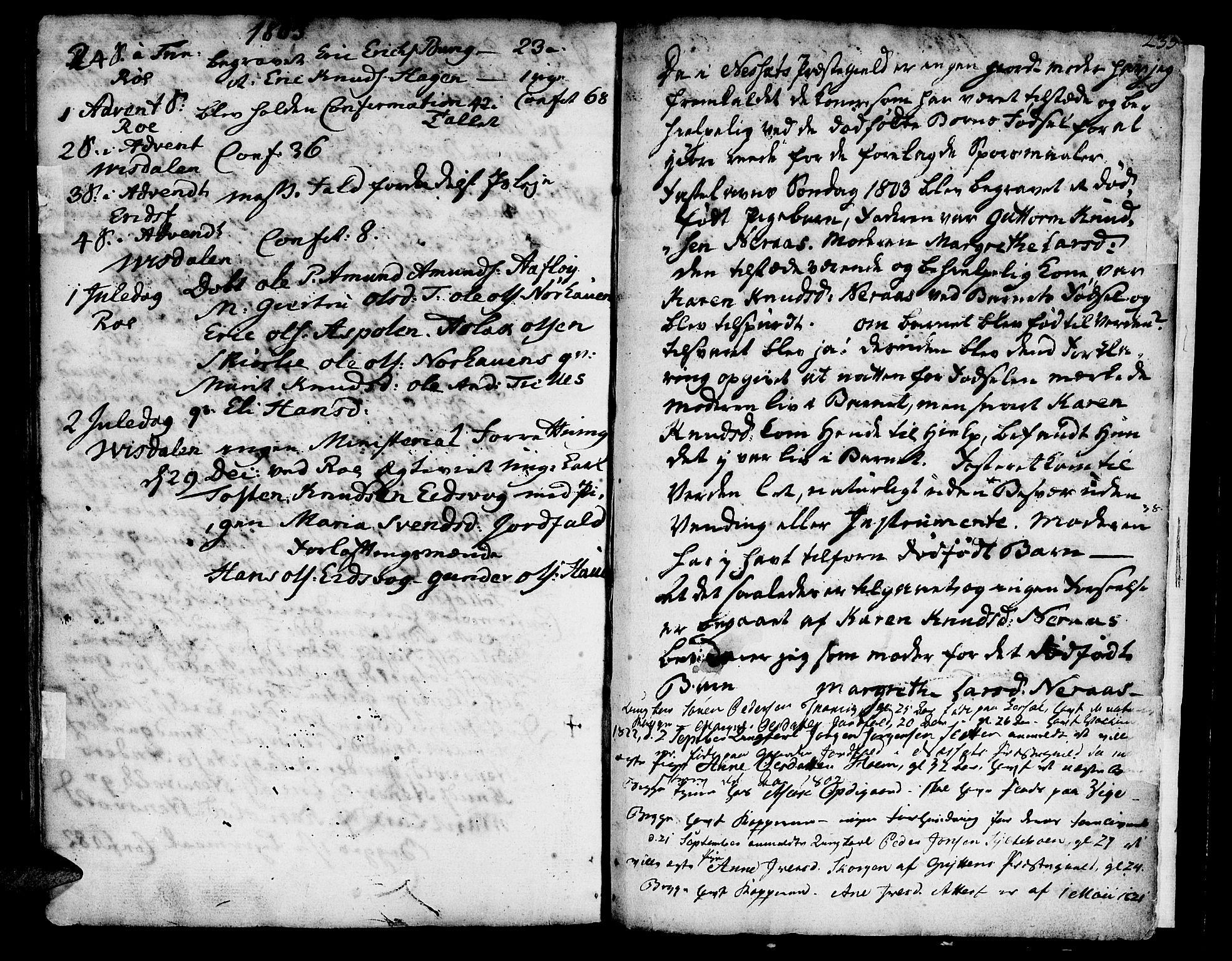 SAT, Ministerialprotokoller, klokkerbøker og fødselsregistre - Møre og Romsdal, 551/L0621: Ministerialbok nr. 551A01, 1757-1803, s. 235