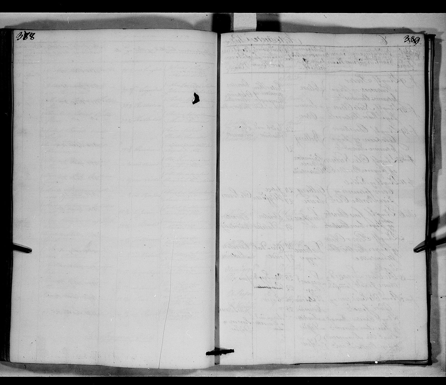 SAH, Fåberg prestekontor, Klokkerbok nr. 6, 1837-1855, s. 388-389