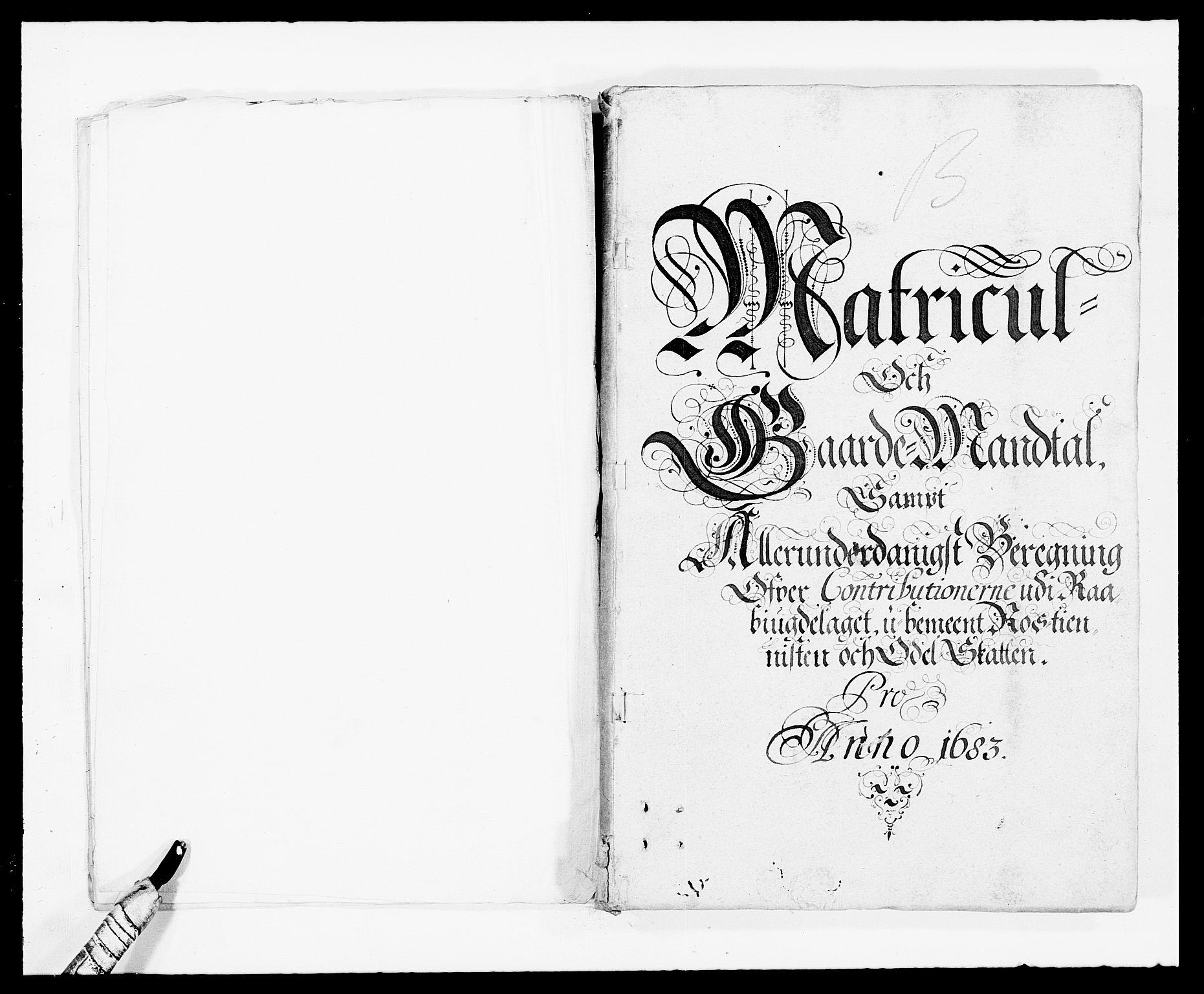 RA, Rentekammeret inntil 1814, Reviderte regnskaper, Fogderegnskap, R40/L2438: Fogderegnskap Råbyggelag, 1682-1683, s. 169