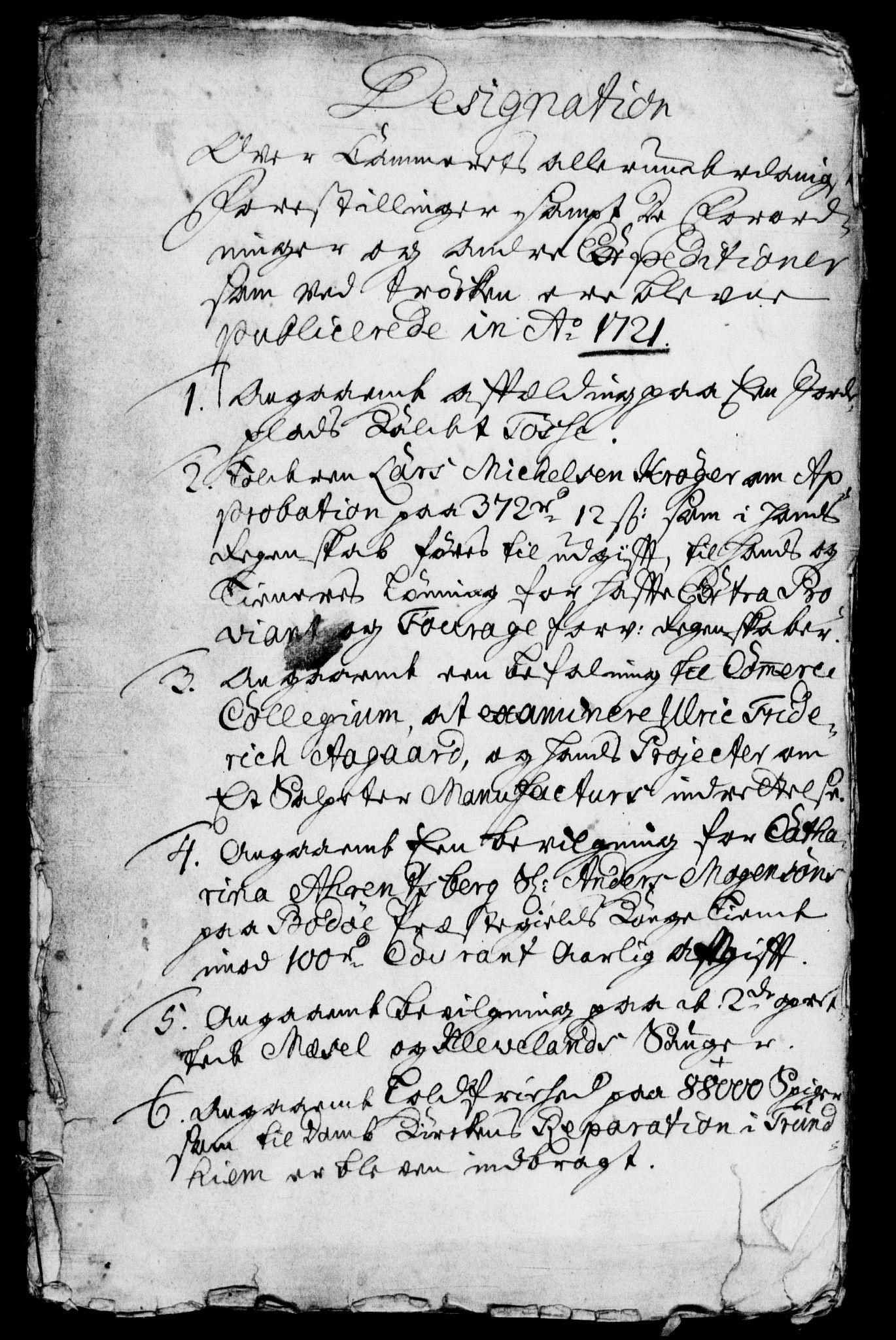 RA, Rentekammeret, Kammerkanselliet, G/Gf/Gfb/L0001: Register til norske relasjons- og resolusjonsprotokoller (merket RK 52.96), 1720-1749, s. 210