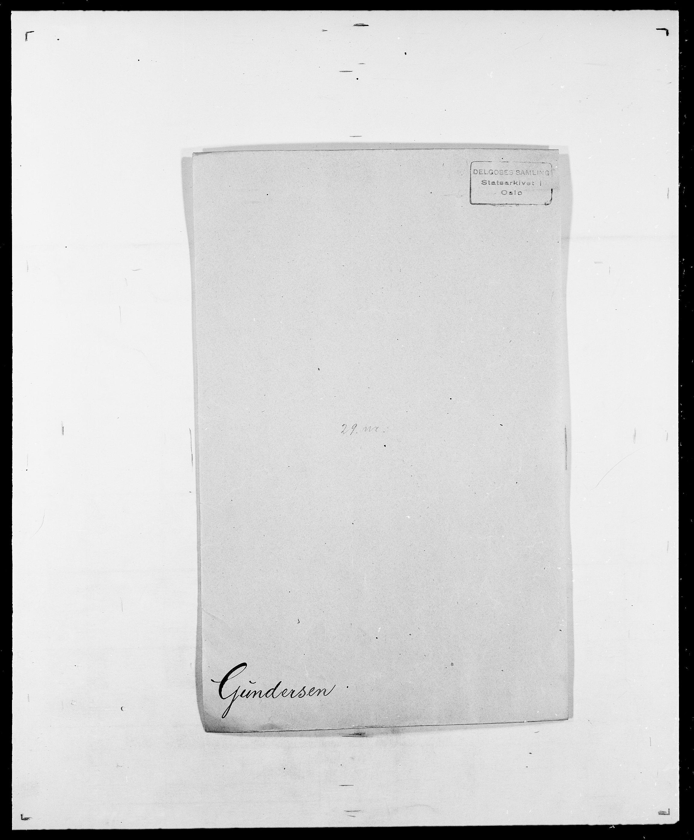 SAO, Delgobe, Charles Antoine - samling, D/Da/L0015: Grodtshilling - Halvorsæth, s. 424