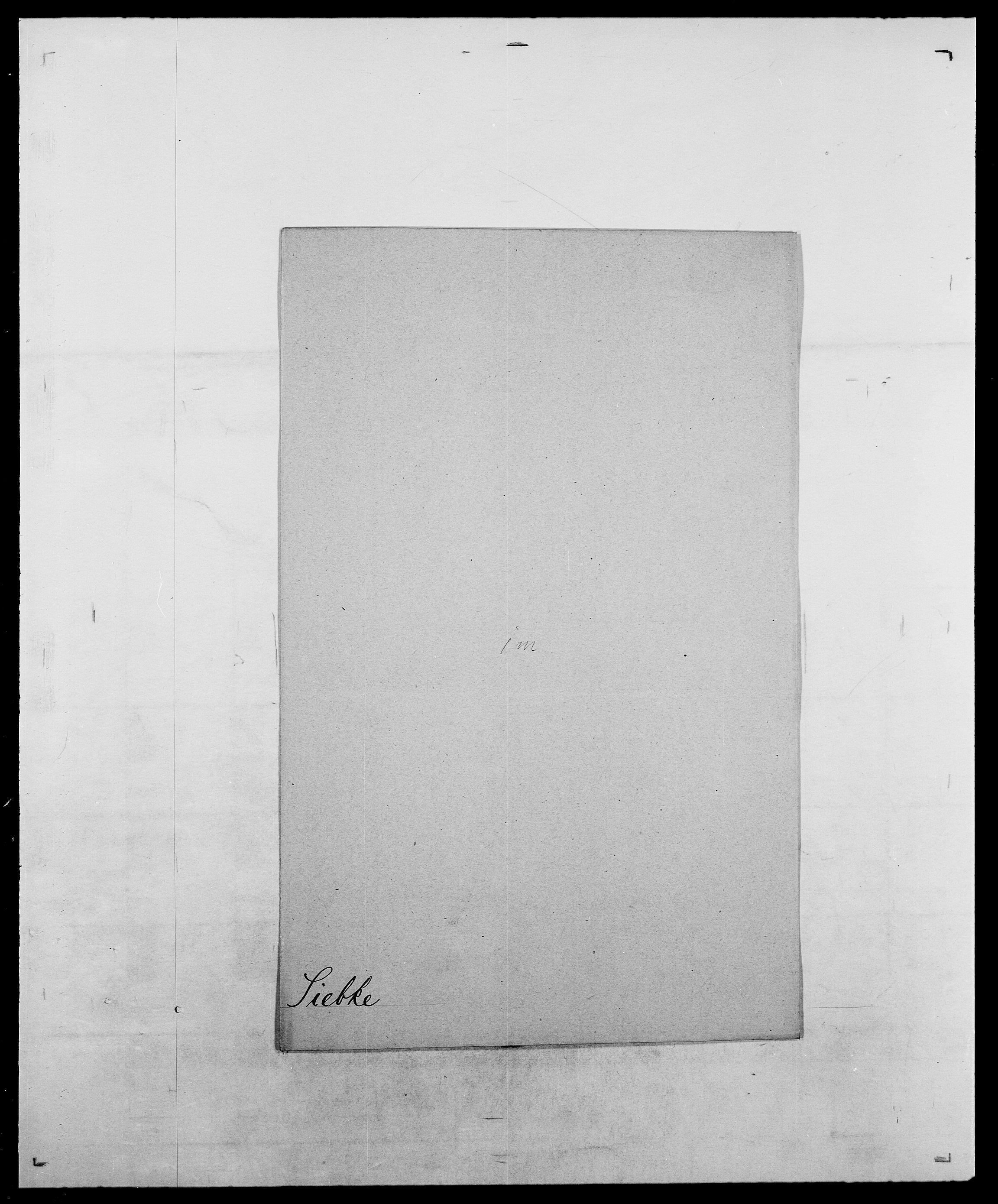 SAO, Delgobe, Charles Antoine - samling, D/Da/L0035: Schnabel - sjetman, s. 763