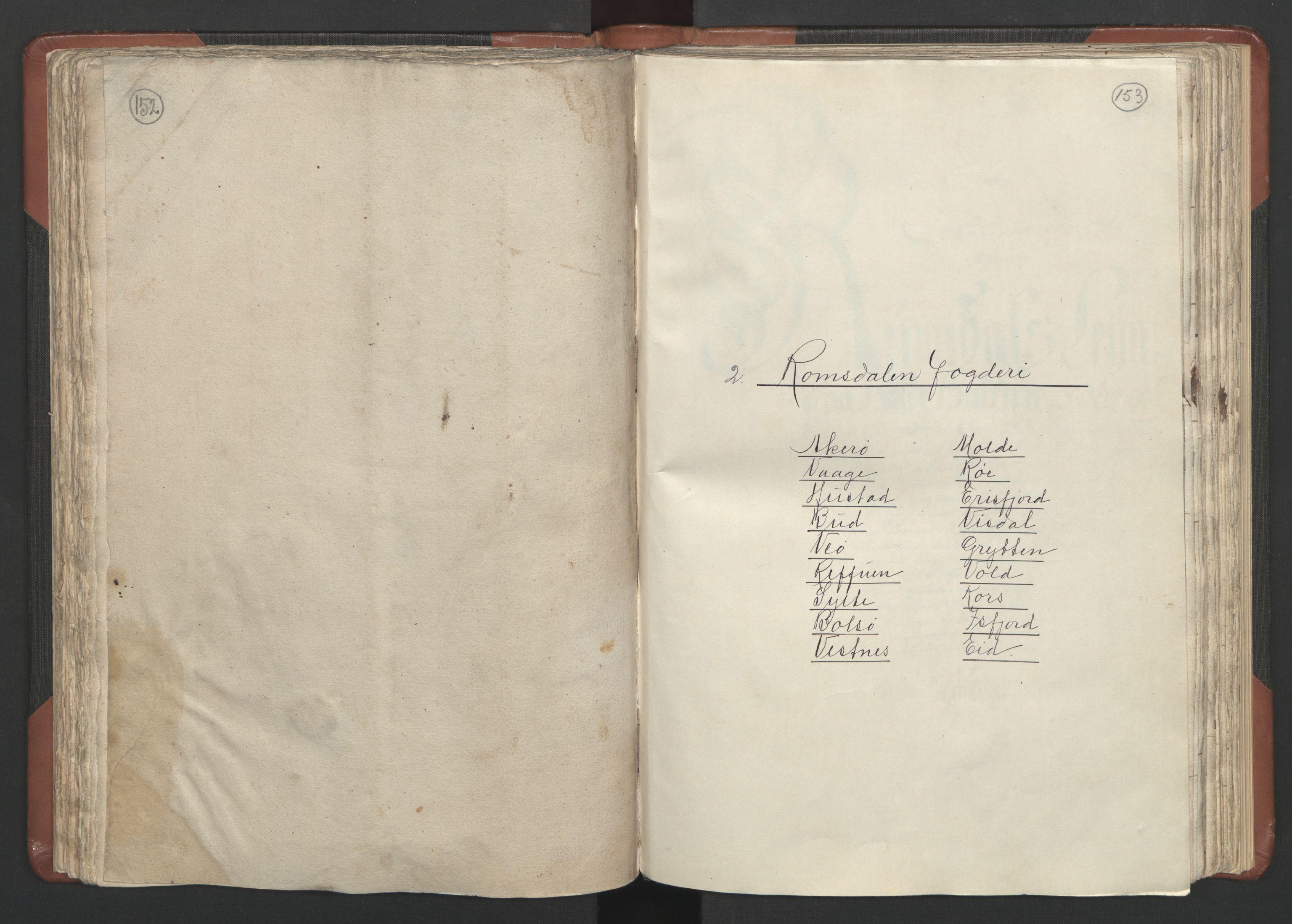 RA, Fogdenes og sorenskrivernes manntall 1664-1666, nr. 16: Romsdal fogderi og Sunnmøre fogderi, 1664-1665, s. 152-153