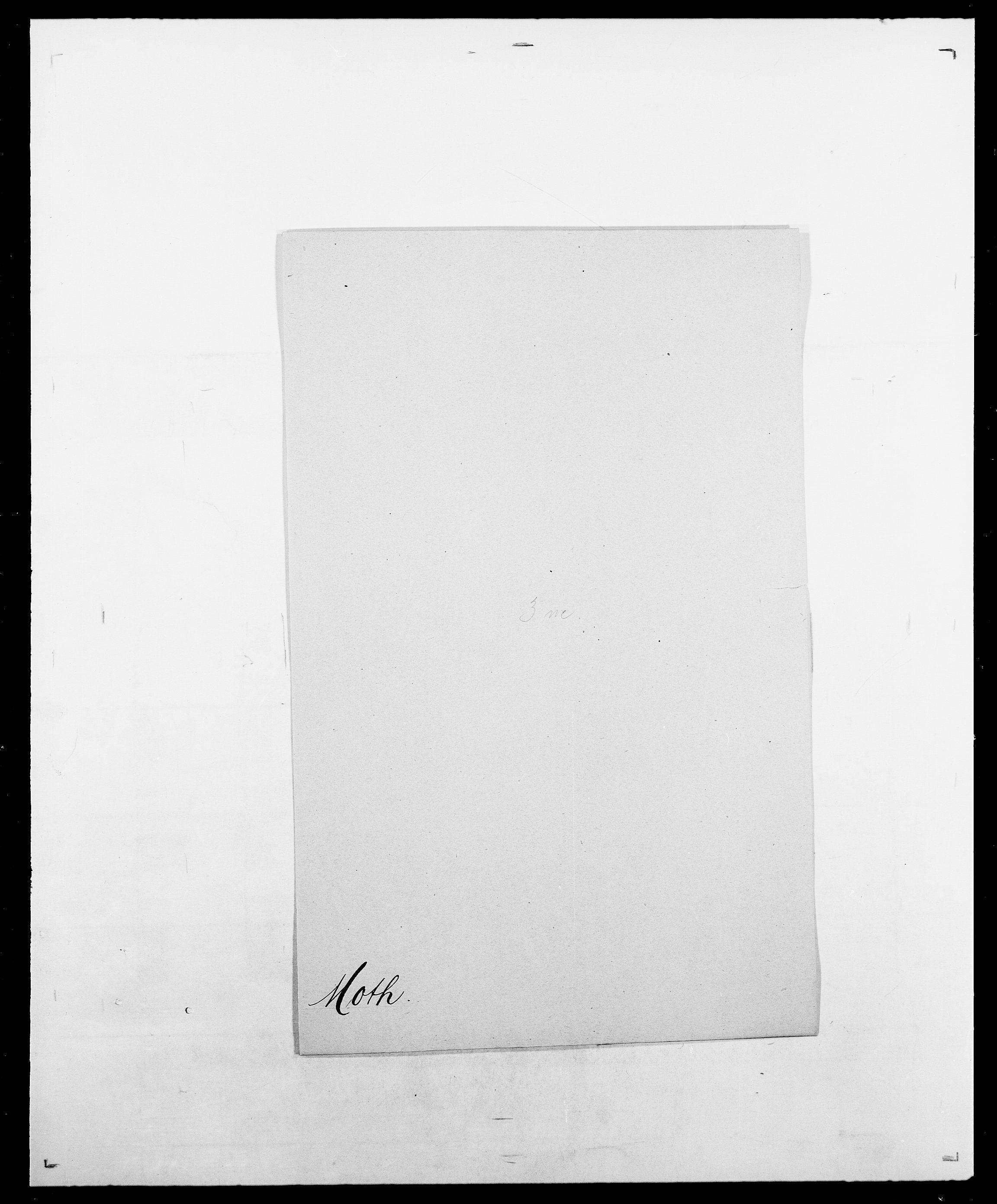 SAO, Delgobe, Charles Antoine - samling, D/Da/L0027: Morath - v. Møsting, s. 73