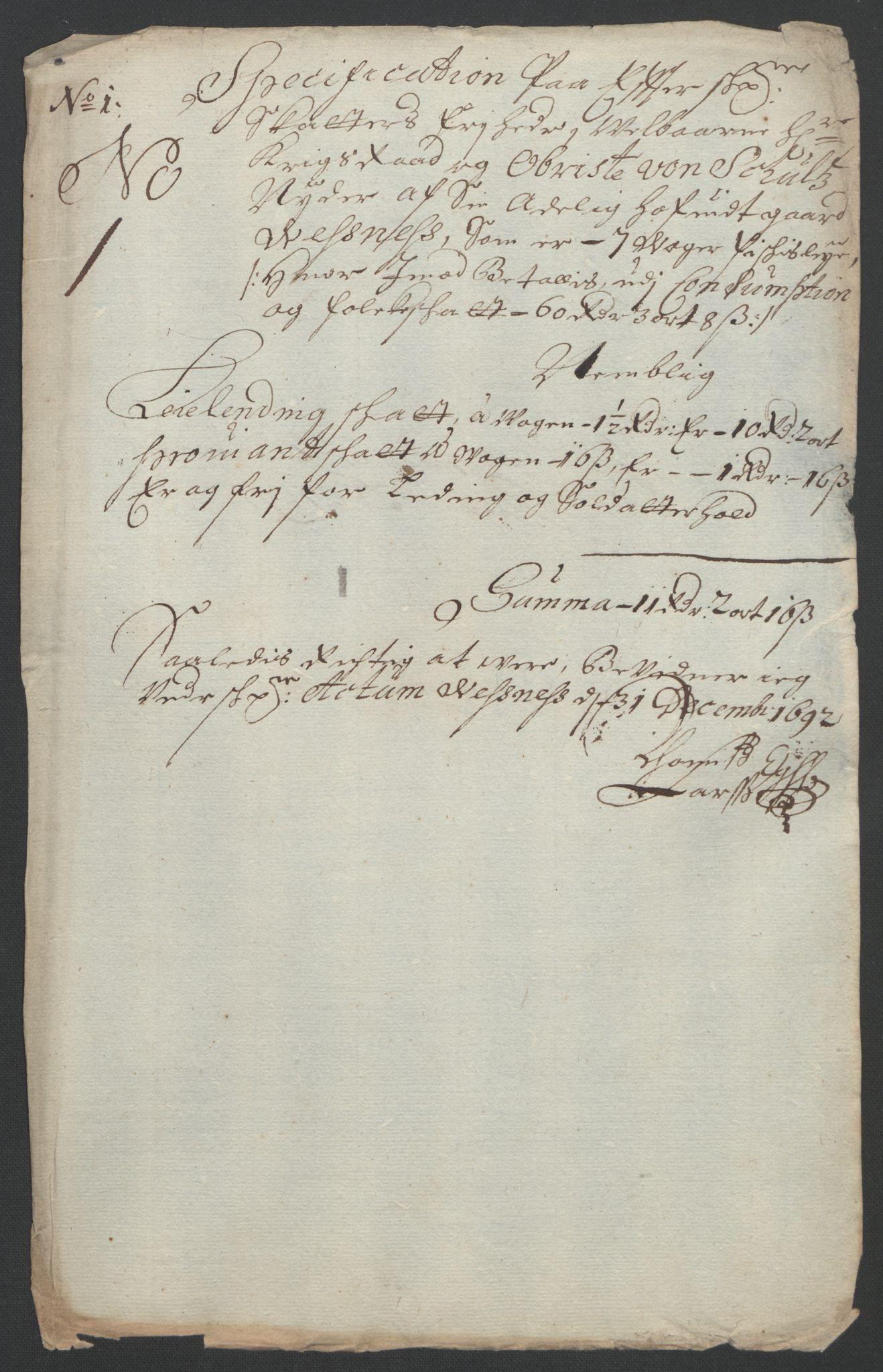 RA, Rentekammeret inntil 1814, Reviderte regnskaper, Fogderegnskap, R55/L3649: Fogderegnskap Romsdal, 1690-1691, s. 337