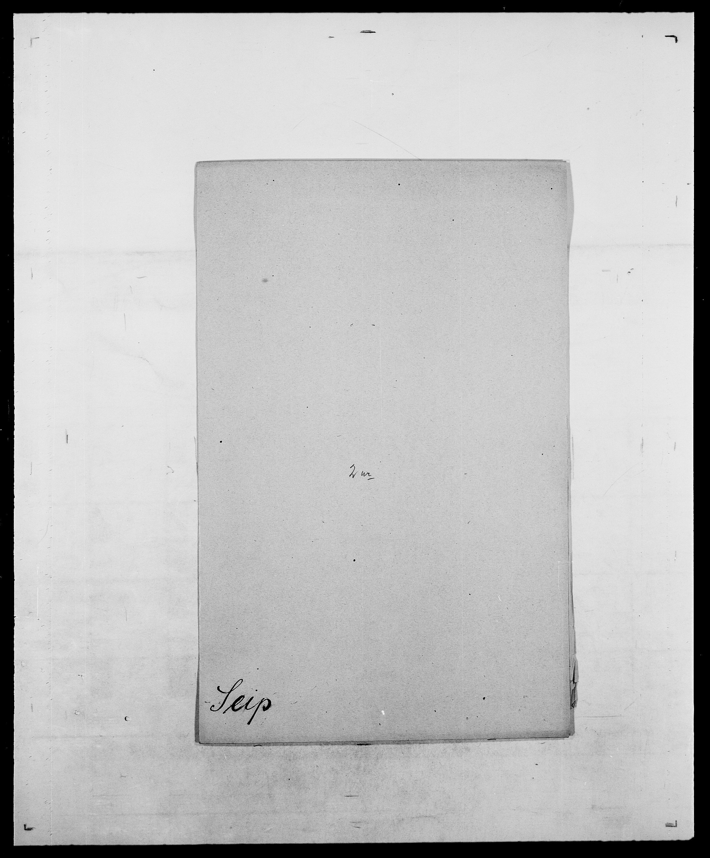 SAO, Delgobe, Charles Antoine - samling, D/Da/L0035: Schnabel - sjetman, s. 609