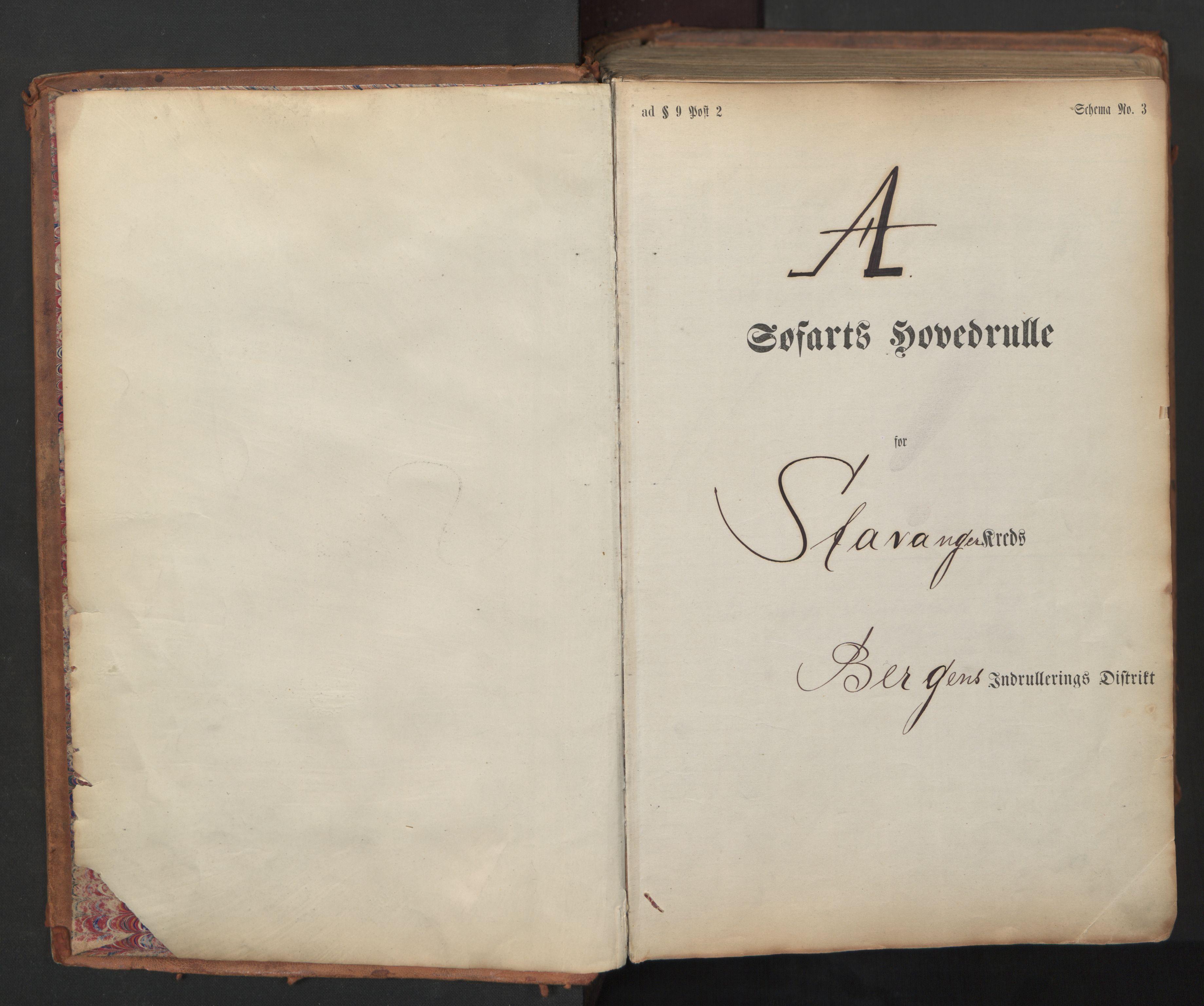 SAST, Stavanger sjømannskontor*, 1873, s. 3