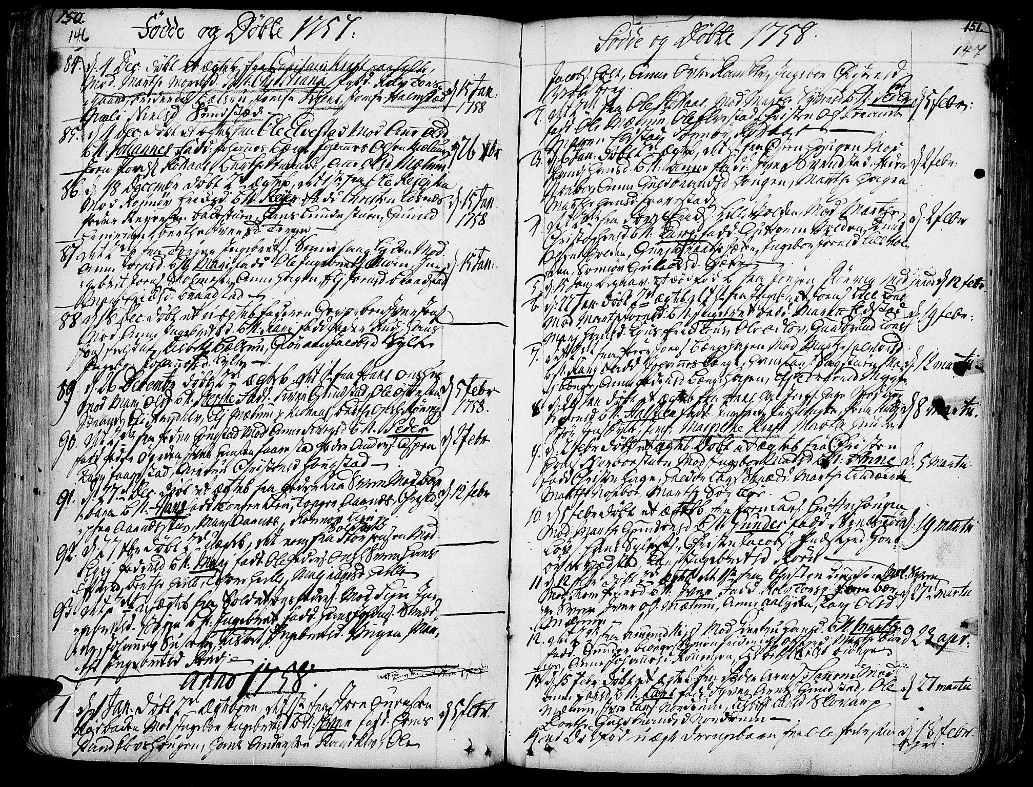 SAH, Ringebu prestekontor, Ministerialbok nr. 2, 1734-1780, s. 146-147