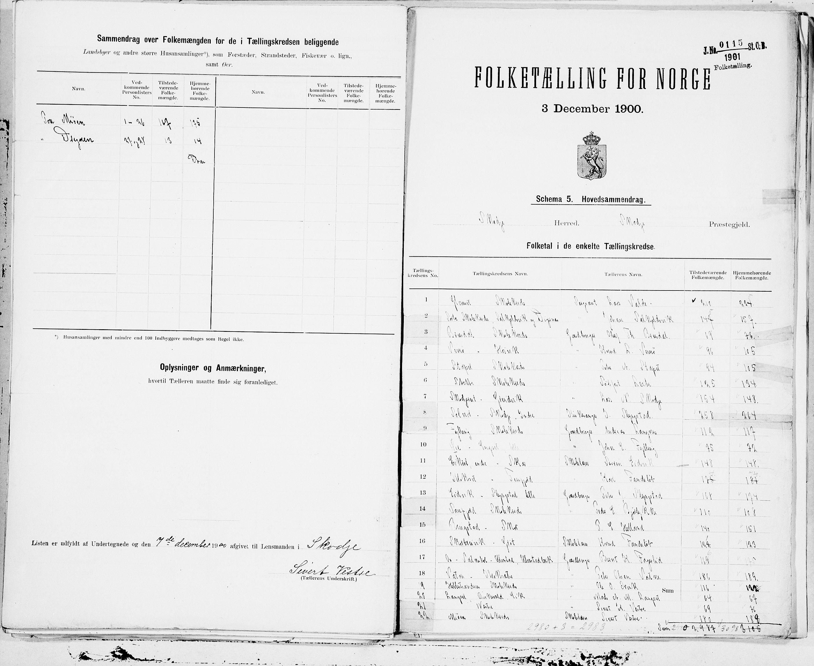 SAT, Folketelling 1900 for 1529 Skodje herred, 1900, s. 46