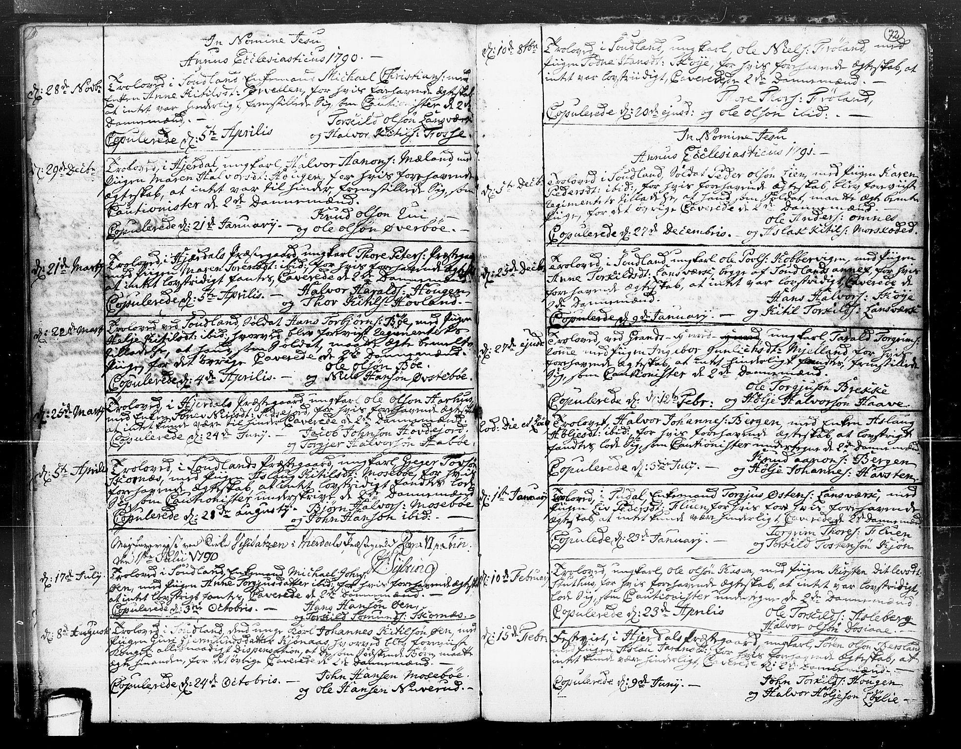 SAKO, Hjartdal kirkebøker, F/Fa/L0004: Ministerialbok nr. I 4, 1727-1795, s. 72