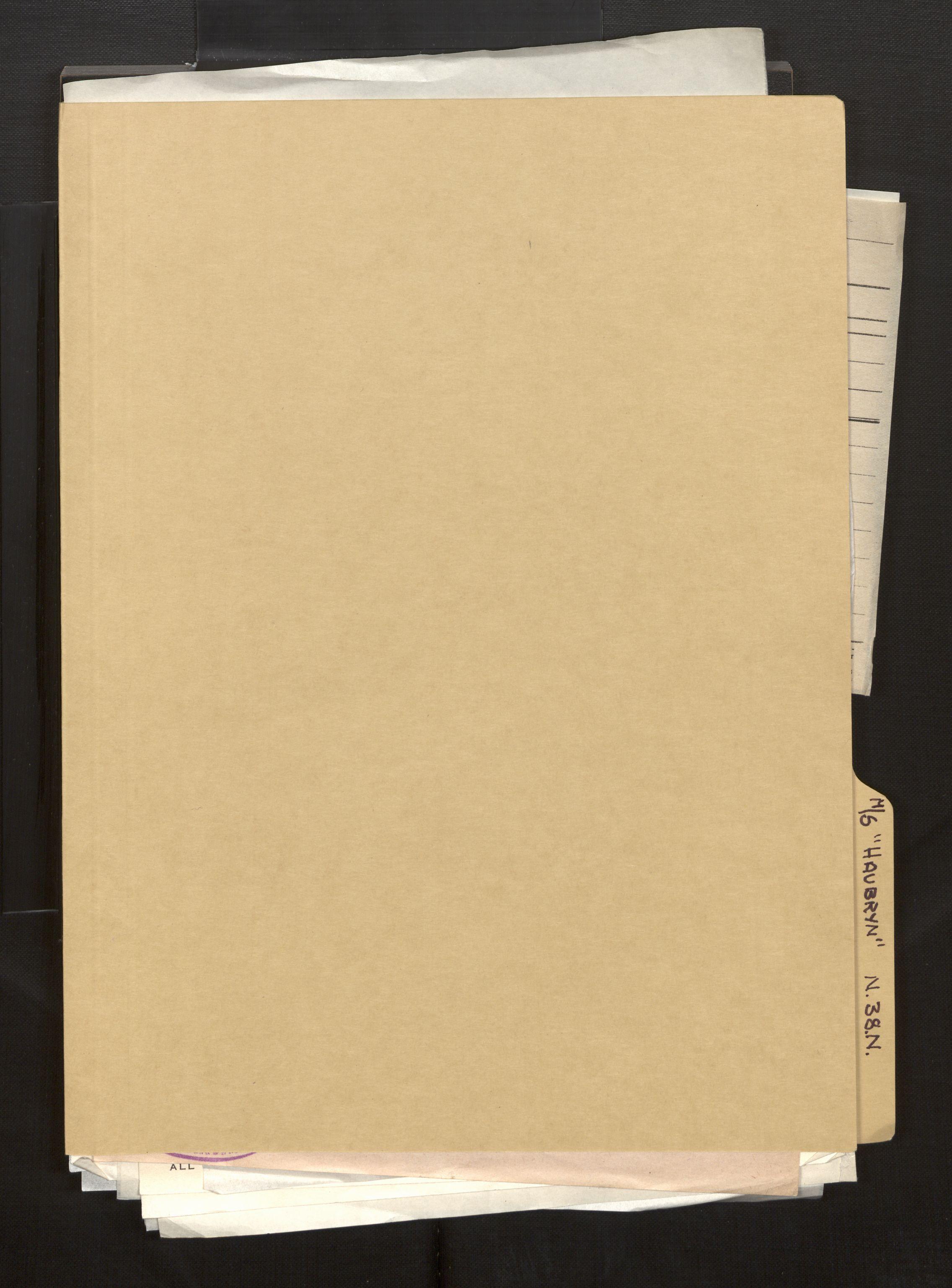 SAB, Fiskeridirektoratet - 1 Adm. ledelse - 13 Båtkontoret, La/L0042: Statens krigsforsikring for fiskeflåten, 1936-1971, s. 715