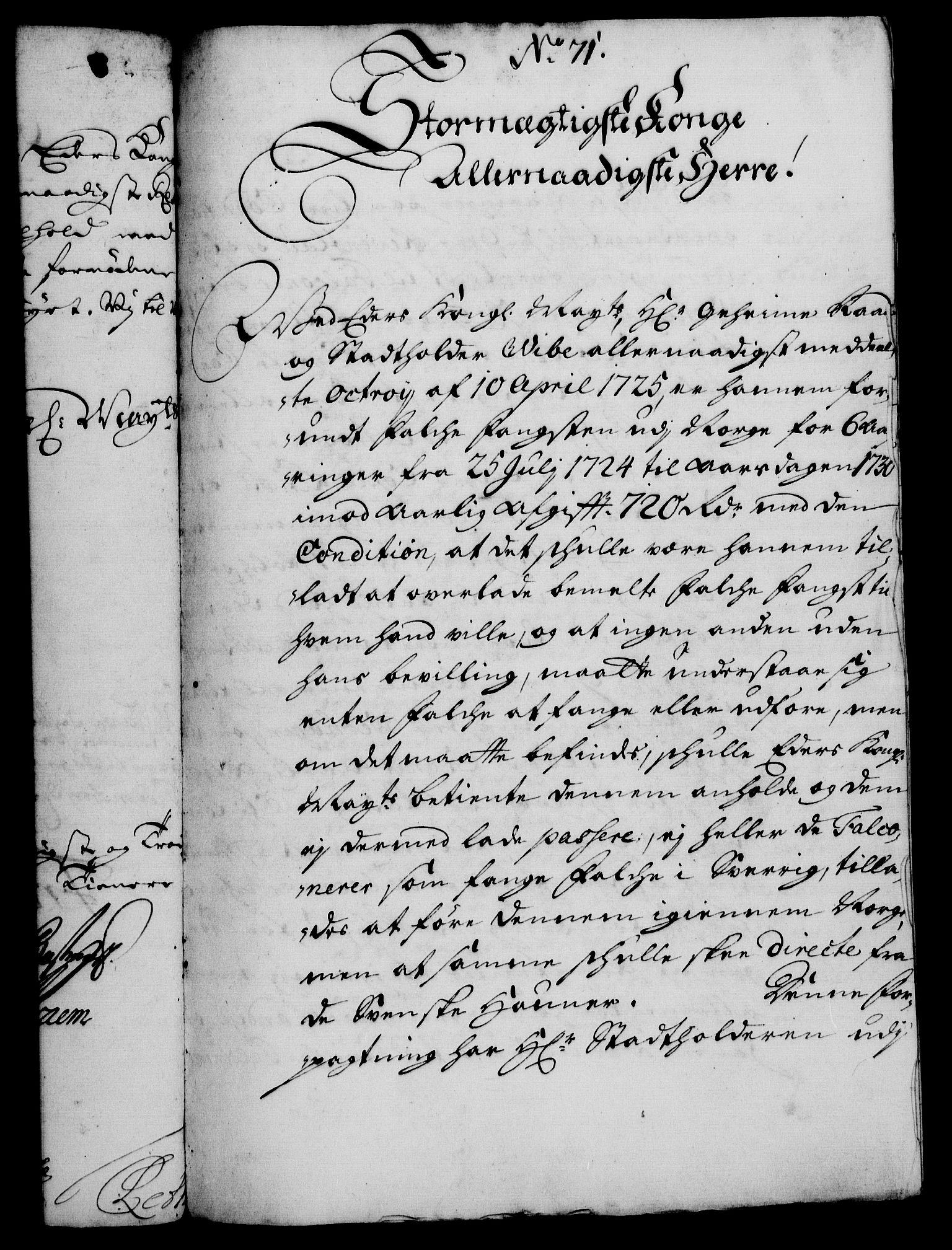 RA, Rentekammeret, Kammerkanselliet, G/Gf/Gfa/L0011: Norsk relasjons- og resolusjonsprotokoll (merket RK 52.11), 1728, s. 553