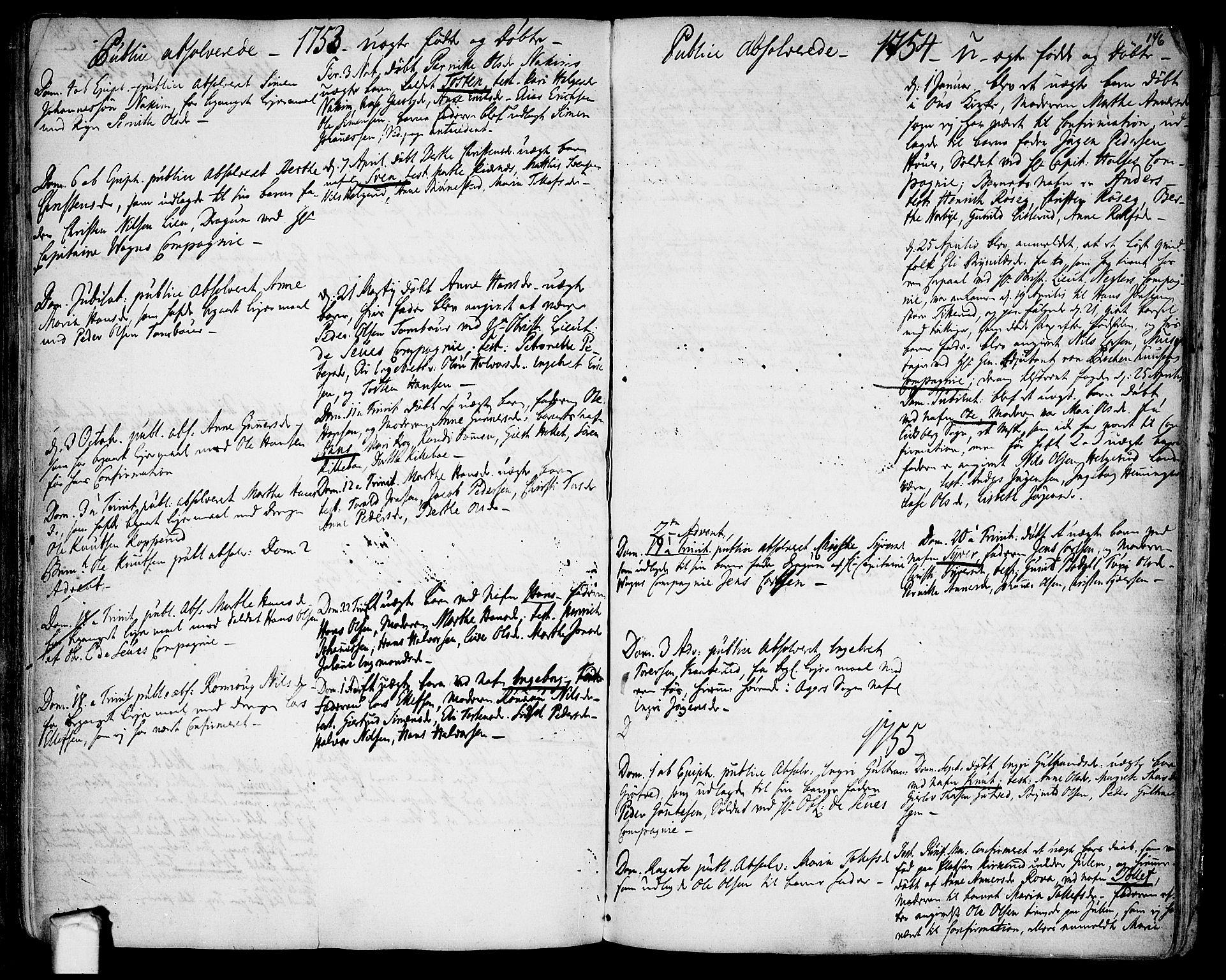 SAO, Rakkestad prestekontor Kirkebøker, F/Fa/L0003: Ministerialbok nr. I 3, 1752-1777, s. 146