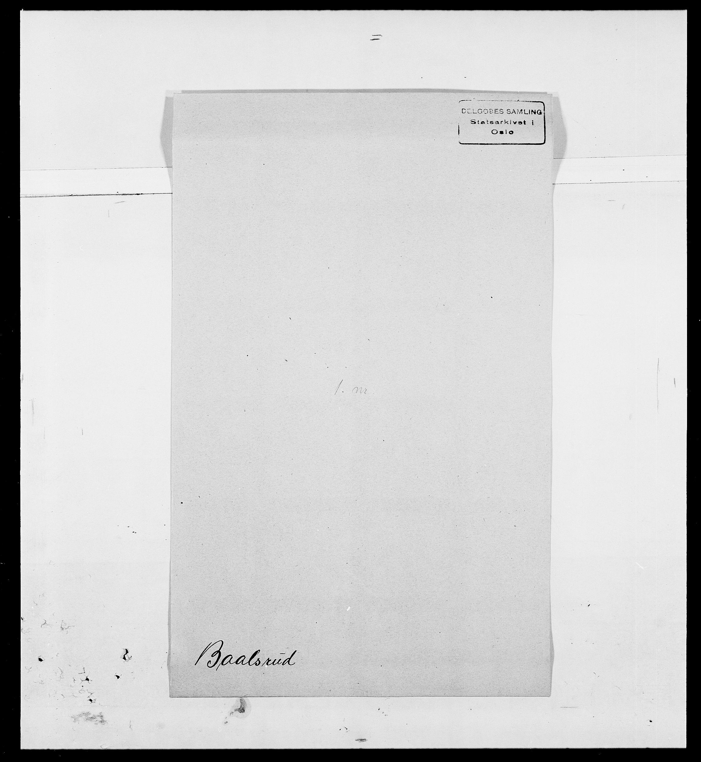 SAO, Delgobe, Charles Antoine - samling, D/Da/L0002: Anker, Ancher - Bauner, s. 554