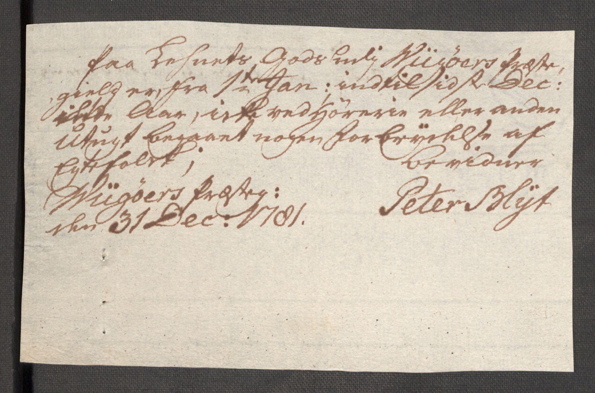 RA, Rentekammeret inntil 1814, Reviderte regnskaper, Fogderegnskap, R48/L3097: Fogderegnskap Sunnhordland og Hardanger, 1781, s. 242