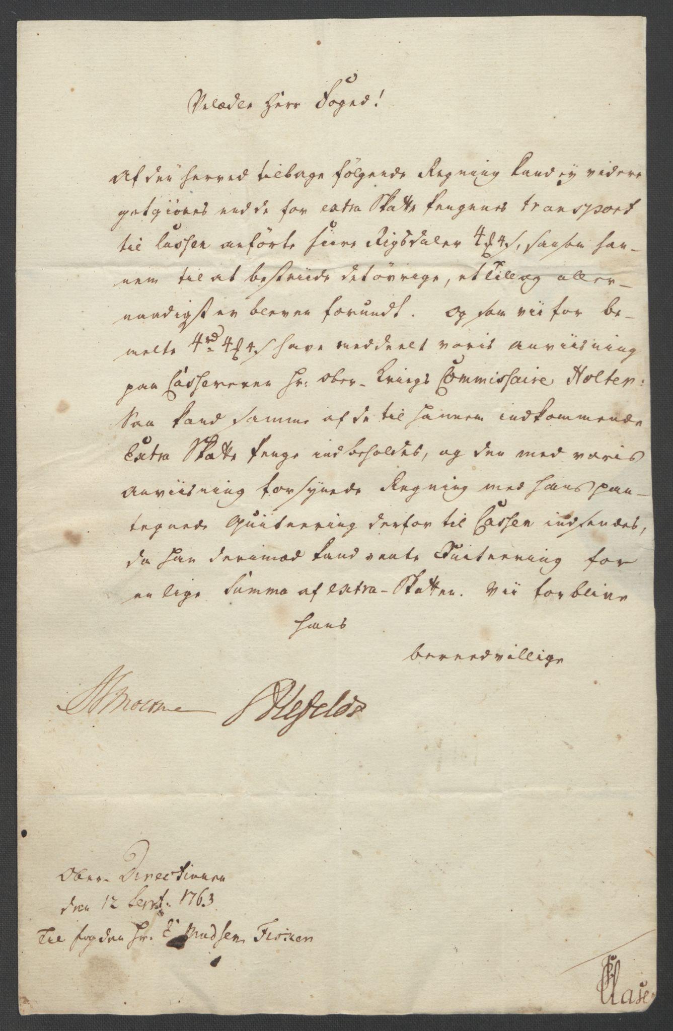 RA, Rentekammeret inntil 1814, Reviderte regnskaper, Fogderegnskap, R31/L1833: Ekstraskatten Hurum, Røyken, Eiker, Lier og Buskerud, 1762-1764, s. 139