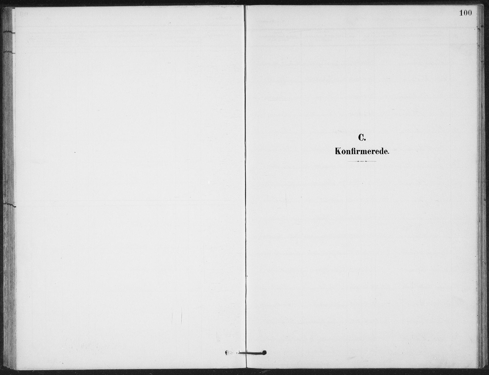 SAH, Vestre Gausdal prestekontor, Klokkerbok nr. 4, 1898-1939, s. 100