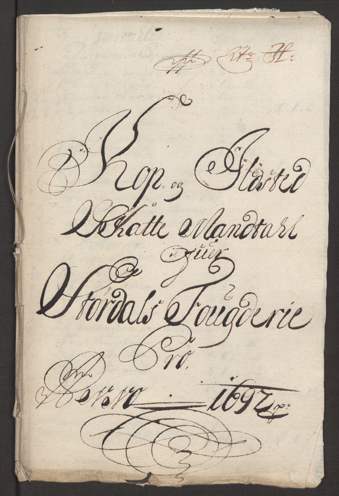 RA, Rentekammeret inntil 1814, Reviderte regnskaper, Fogderegnskap, R62/L4185: Fogderegnskap Stjørdal og Verdal, 1692, s. 141