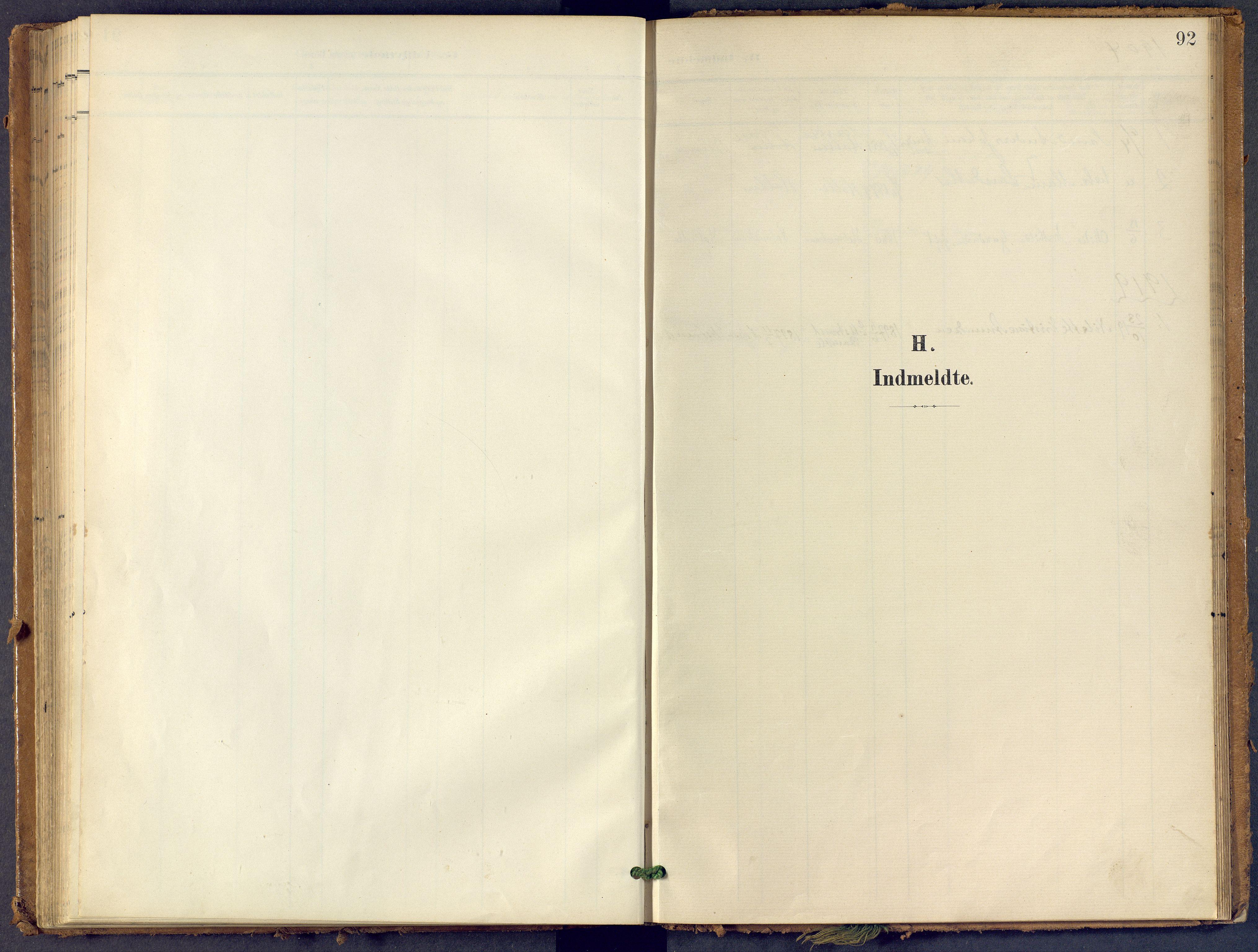 SAKO, Bamble kirkebøker, F/Fb/L0002: Ministerialbok nr. II 2, 1900-1921, s. 92