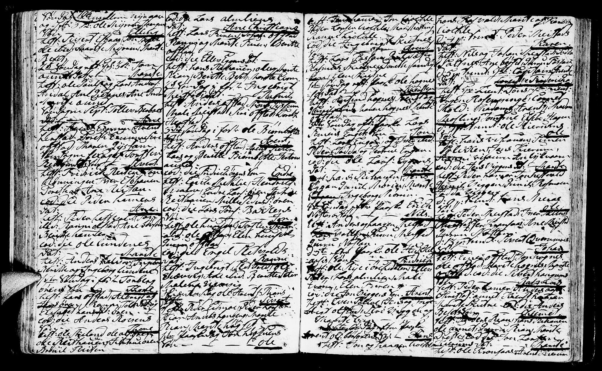 SAT, Ministerialprotokoller, klokkerbøker og fødselsregistre - Sør-Trøndelag, 665/L0768: Ministerialbok nr. 665A03, 1754-1803, s. 104