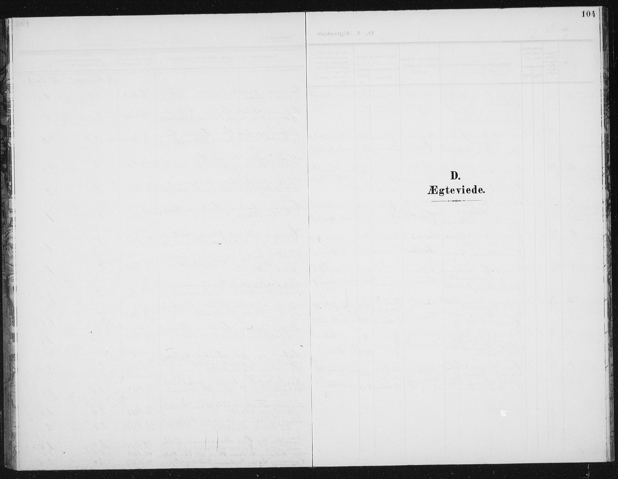 SAT, Ministerialprotokoller, klokkerbøker og fødselsregistre - Sør-Trøndelag, 656/L0699: Klokkerbok nr. 656C05, 1905-1920, s. 104
