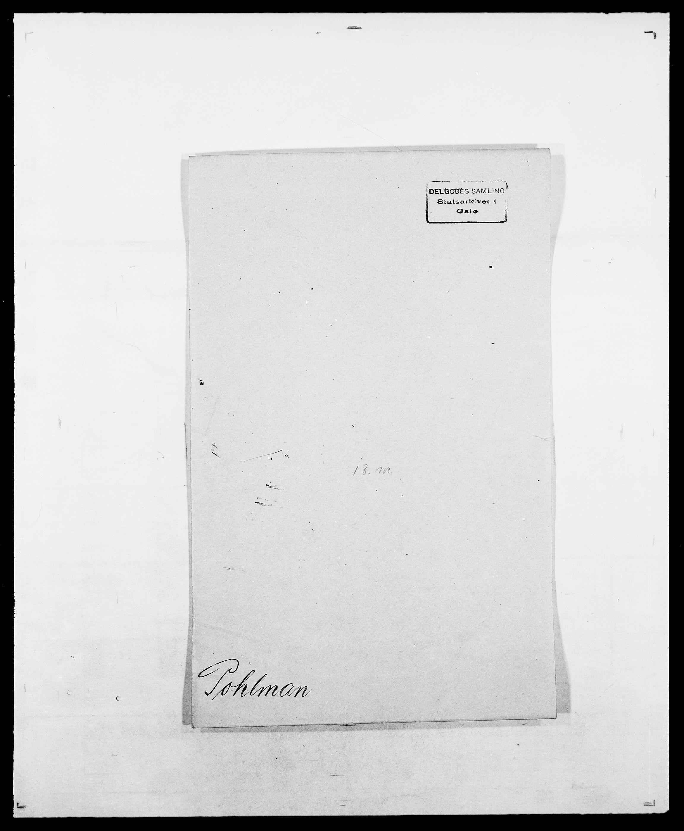 SAO, Delgobe, Charles Antoine - samling, D/Da/L0031: de Place - Raaum, s. 169