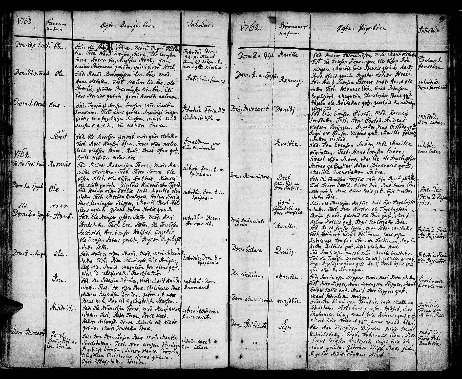 SAT, Ministerialprotokoller, klokkerbøker og fødselsregistre - Sør-Trøndelag, 678/L0891: Ministerialbok nr. 678A01, 1739-1780, s. 119