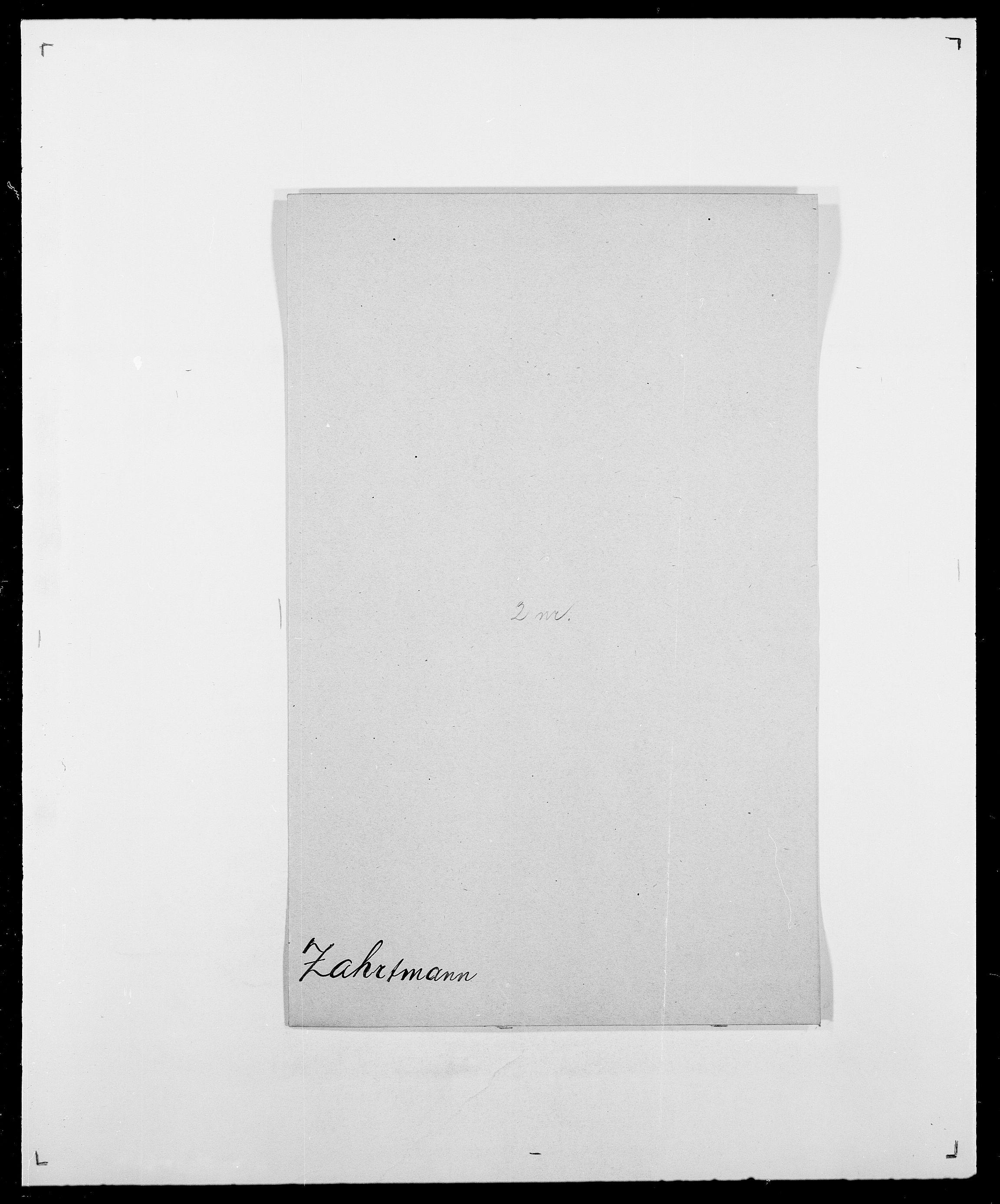 SAO, Delgobe, Charles Antoine - samling, D/Da/L0043: Wulfsberg - v. Zanten, s. 88
