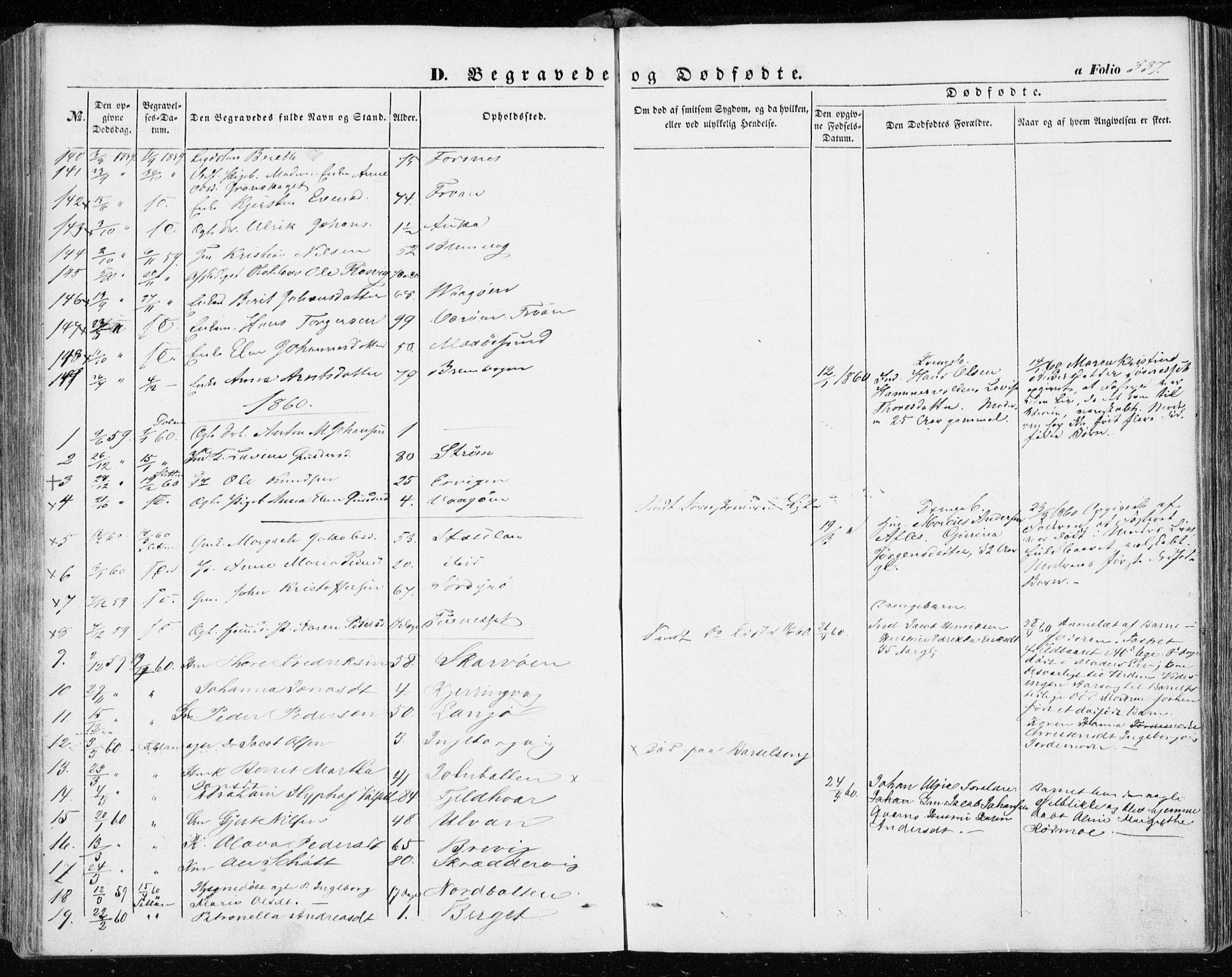 SAT, Ministerialprotokoller, klokkerbøker og fødselsregistre - Sør-Trøndelag, 634/L0530: Ministerialbok nr. 634A06, 1852-1860, s. 337