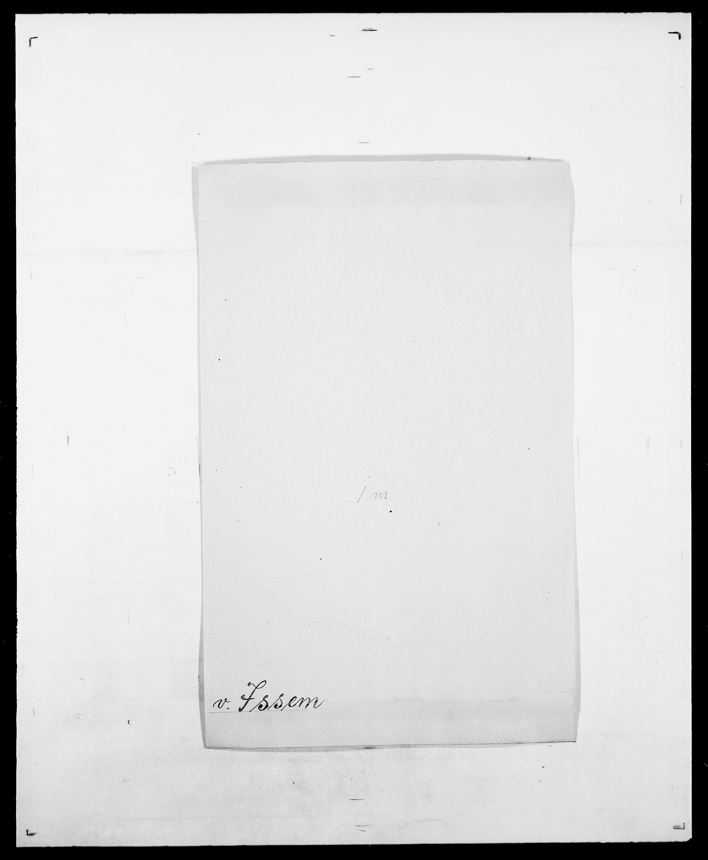 SAO, Delgobe, Charles Antoine - samling, D/Da/L0020: Irgens - Kjøsterud, s. 68