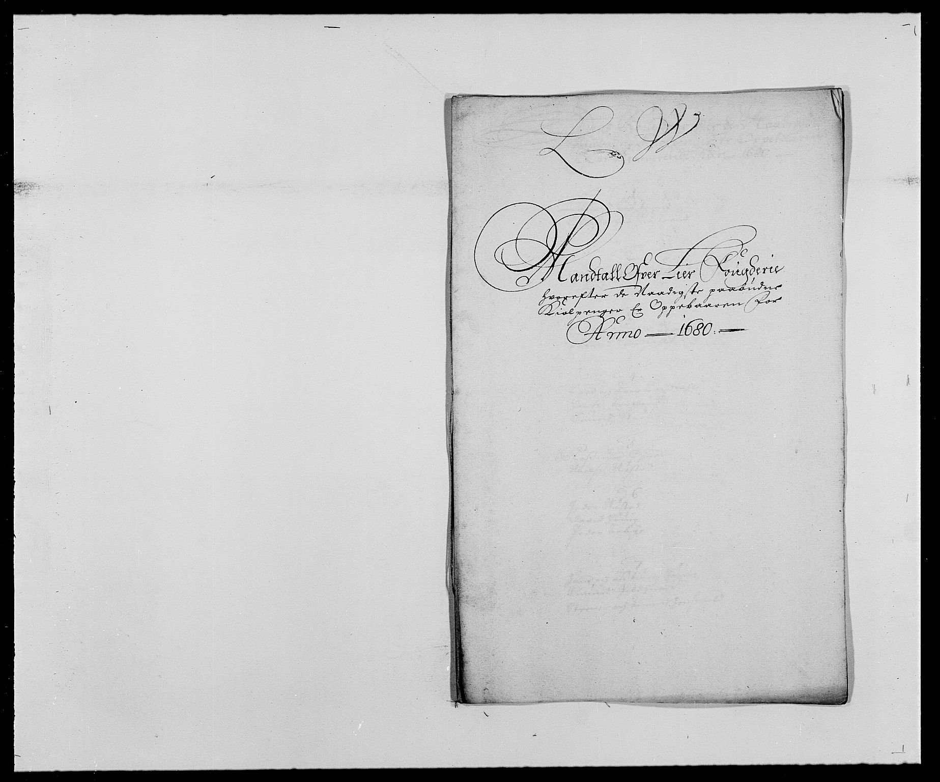 RA, Rentekammeret inntil 1814, Reviderte regnskaper, Fogderegnskap, R27/L1686: Fogderegnskap Lier, 1678-1686, s. 277