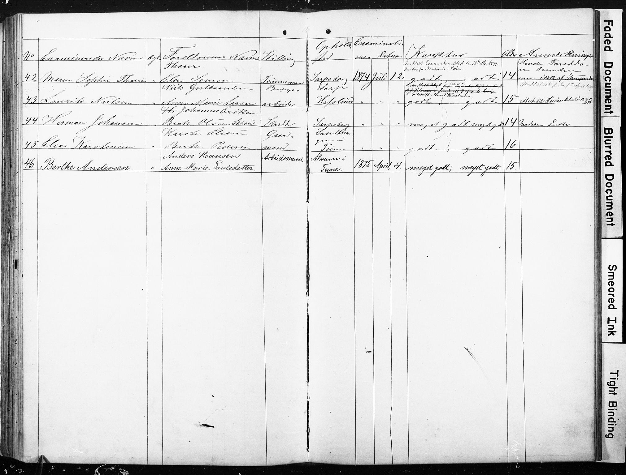 SAO, Sarpsborg metodistkirke, A/L0001: Dissenterprotokoll nr. 1, 1856-1875