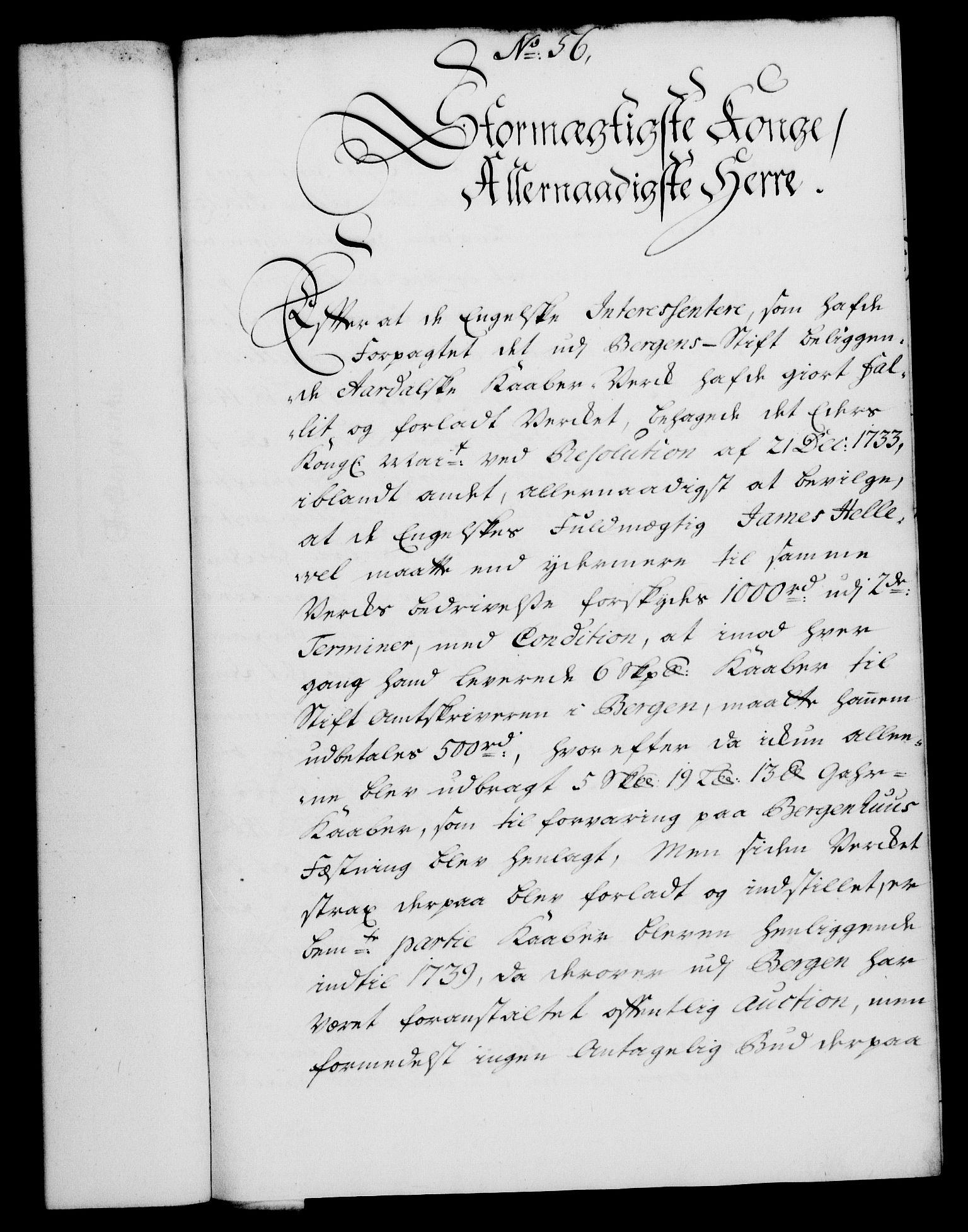 RA, Rentekammeret, Kammerkanselliet, G/Gf/Gfa/L0024: Norsk relasjons- og resolusjonsprotokoll (merket RK 52.24), 1741, s. 326