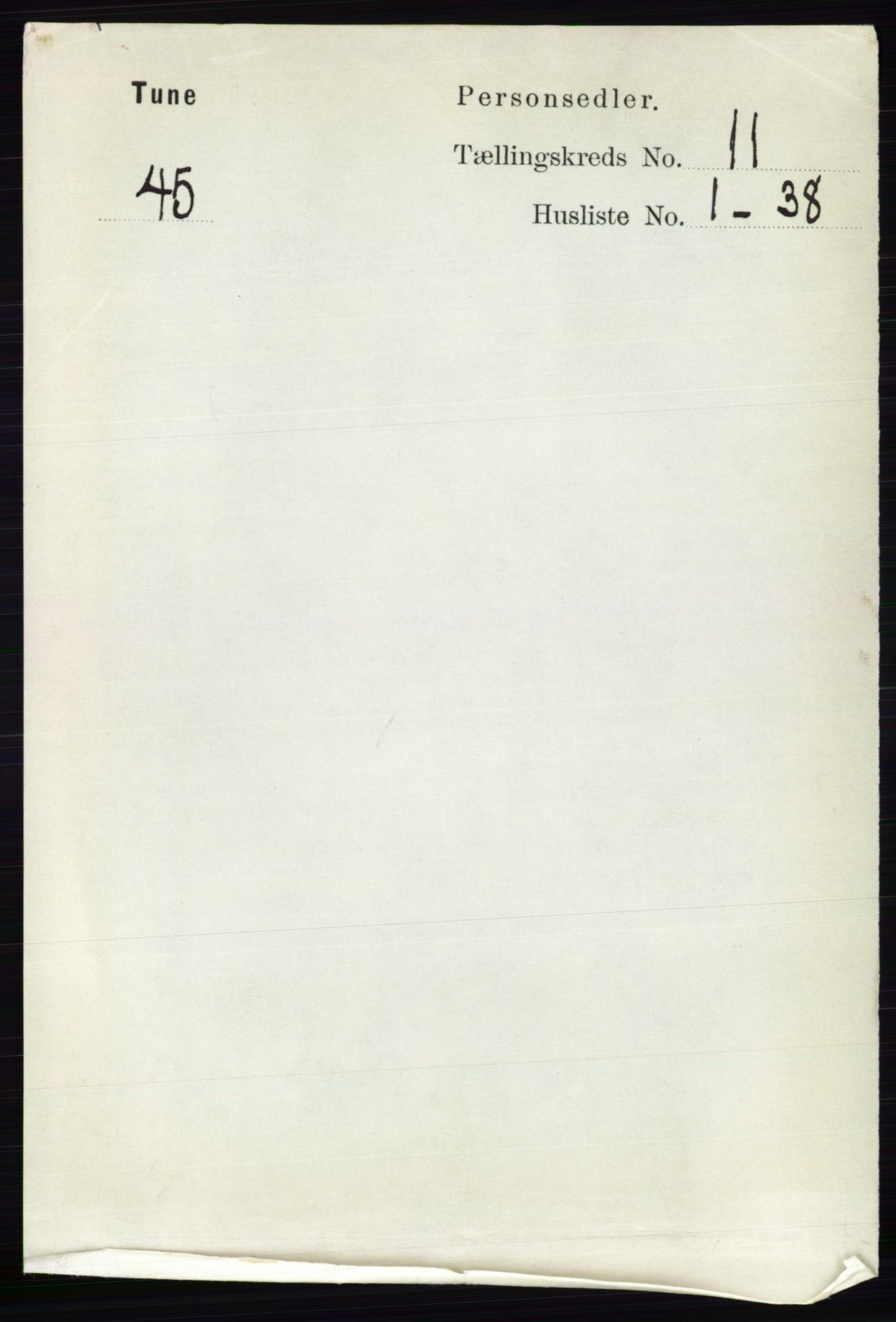 RA, Folketelling 1891 for 0130 Tune herred, 1891, s. 6939