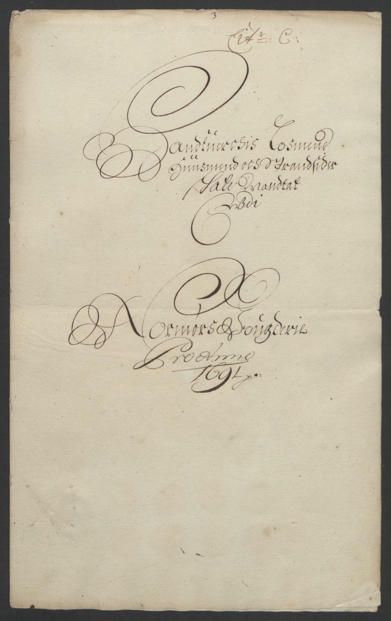 RA, Rentekammeret inntil 1814, Reviderte regnskaper, Fogderegnskap, R56/L3734: Fogderegnskap Nordmøre, 1690-1691, s. 294