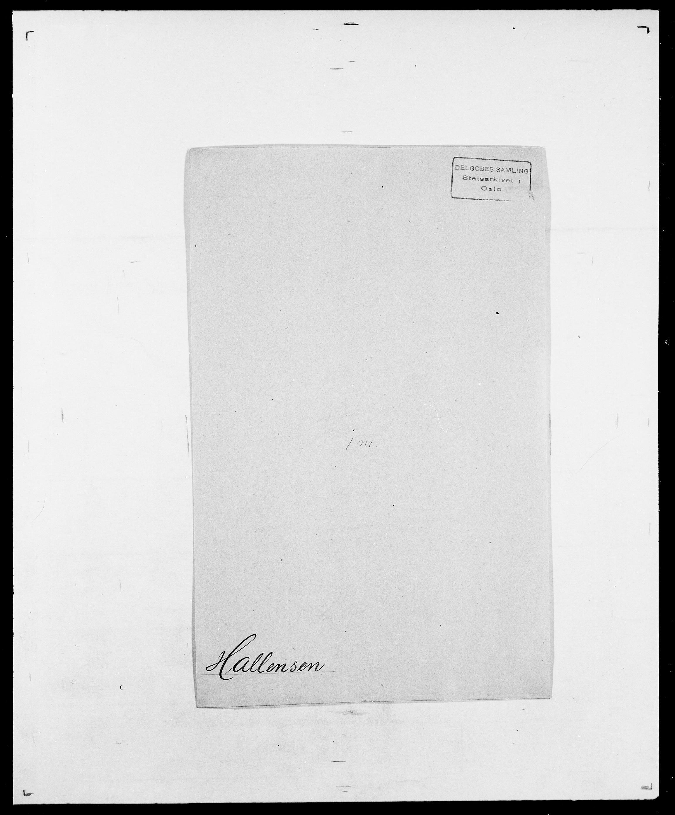 SAO, Delgobe, Charles Antoine - samling, D/Da/L0015: Grodtshilling - Halvorsæth, s. 777