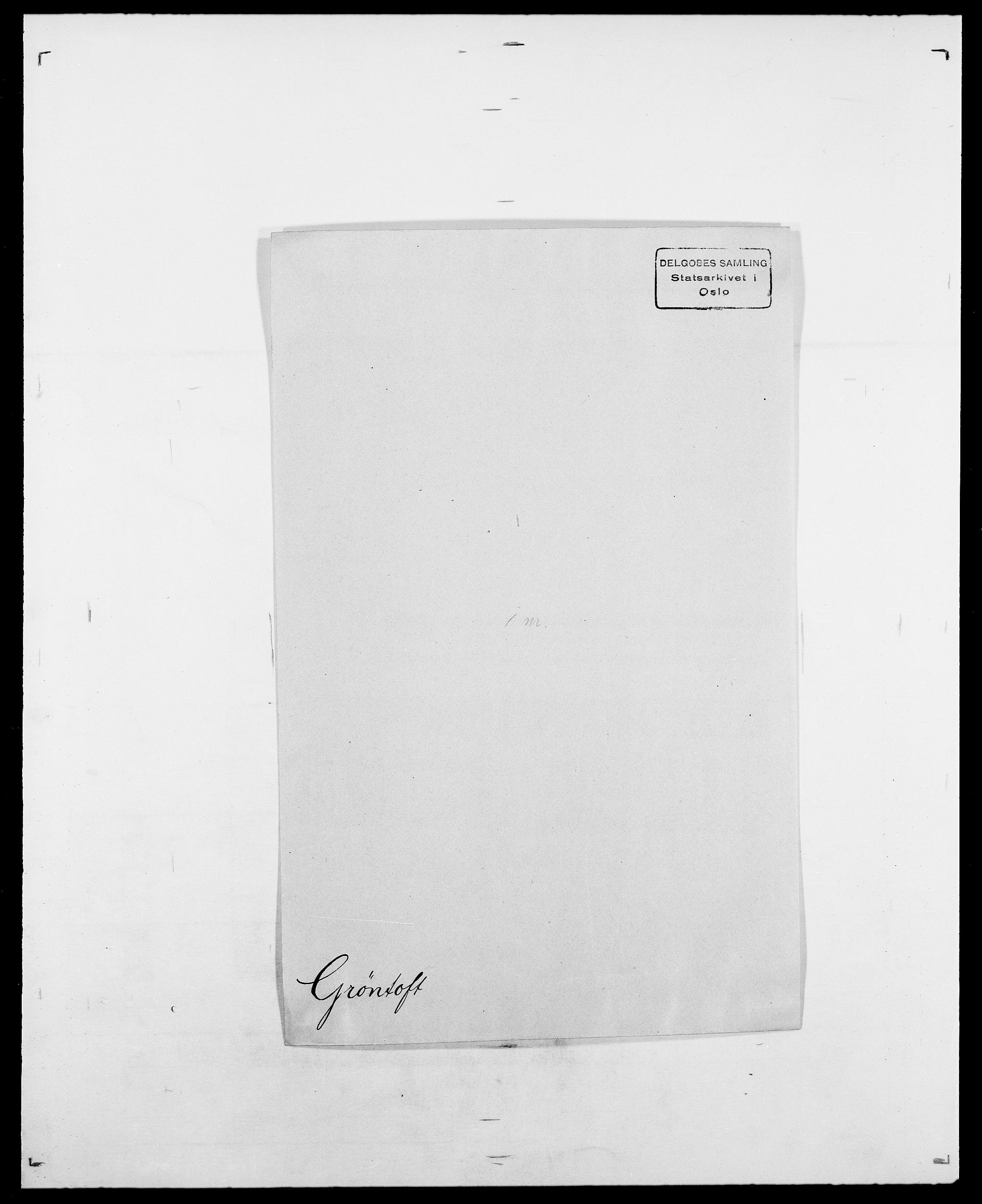 SAO, Delgobe, Charles Antoine - samling, D/Da/L0015: Grodtshilling - Halvorsæth, s. 269