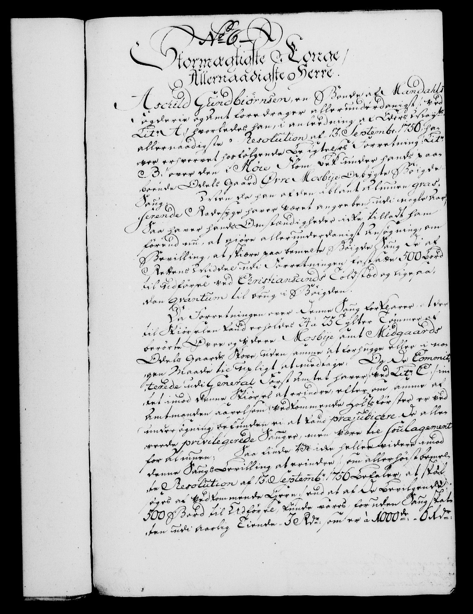 RA, Rentekammeret, Kammerkanselliet, G/Gf/Gfa/L0046: Norsk relasjons- og resolusjonsprotokoll (merket RK 52.46), 1764, s. 44