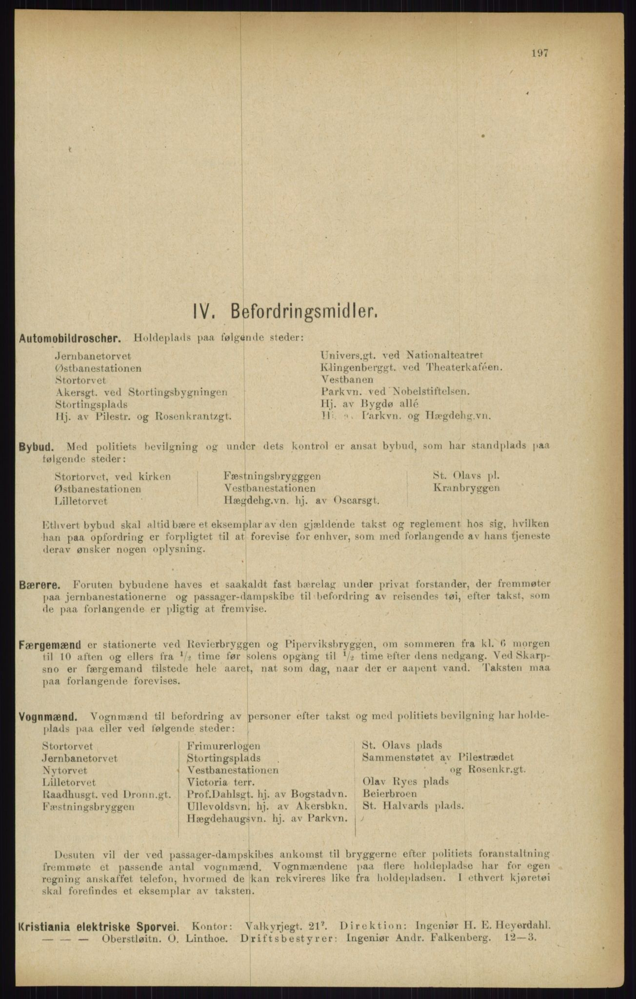 RA, Kristiania adressebok (publikasjon)*, 1916, s. 197