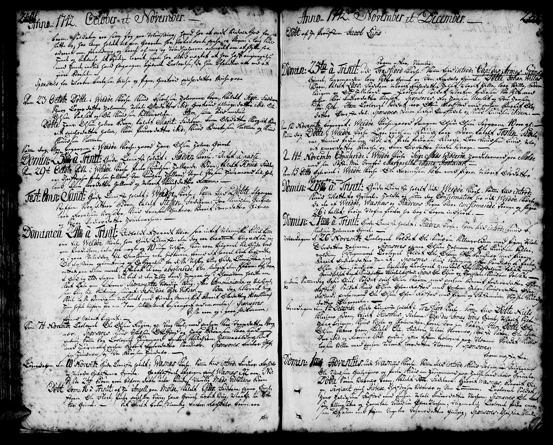 SAT, Ministerialprotokoller, klokkerbøker og fødselsregistre - Møre og Romsdal, 547/L0599: Ministerialbok nr. 547A01, 1721-1764, s. 230-231