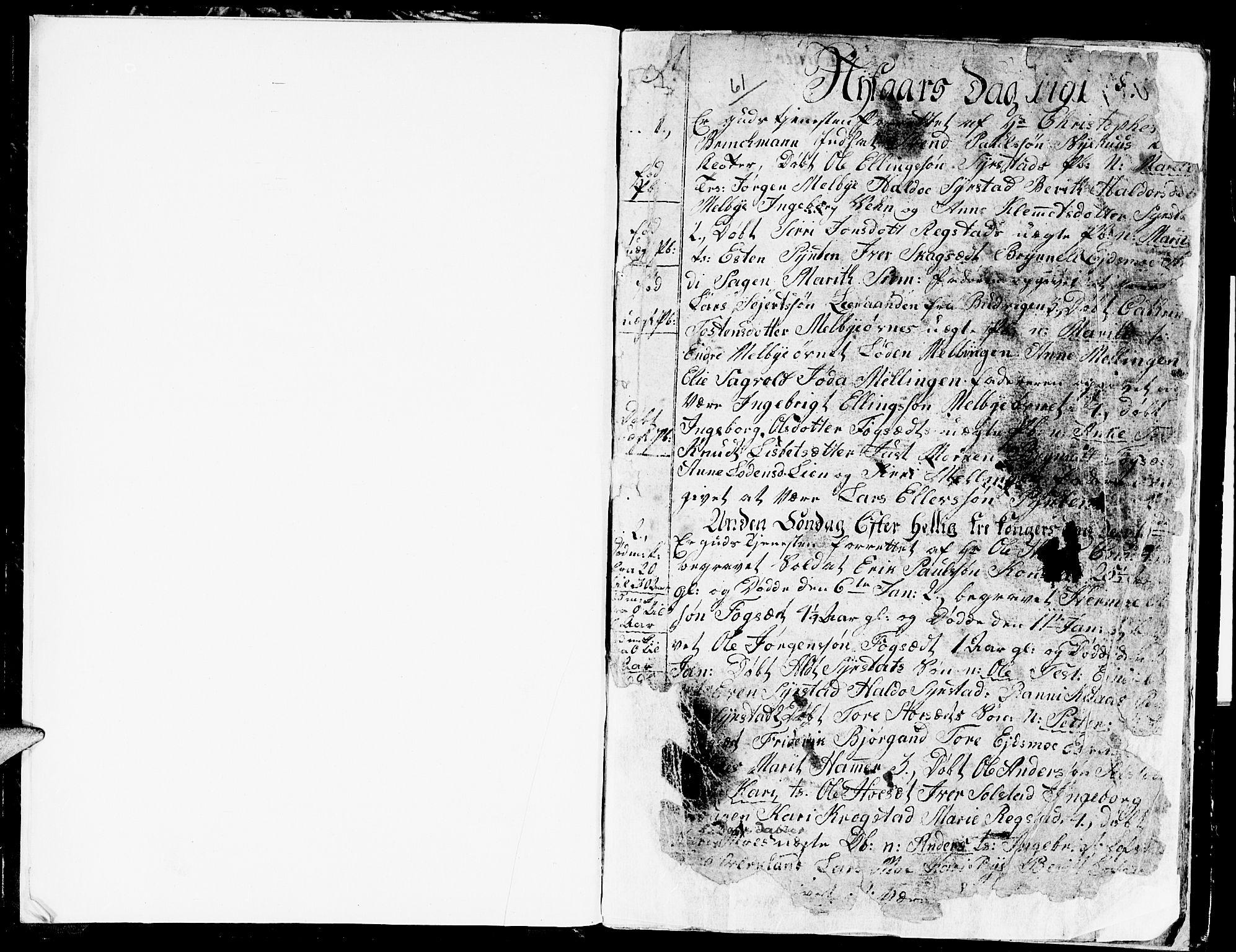 SAT, Ministerialprotokoller, klokkerbøker og fødselsregistre - Sør-Trøndelag, 667/L0794: Ministerialbok nr. 667A02, 1791-1816, s. 2-3